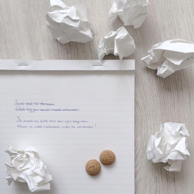 Hulp Nodig Met Je Sinterklaas Gedicht Schrijven Een Goed