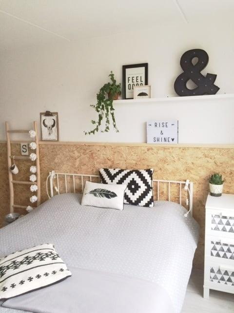 Lightbox slaapkamer