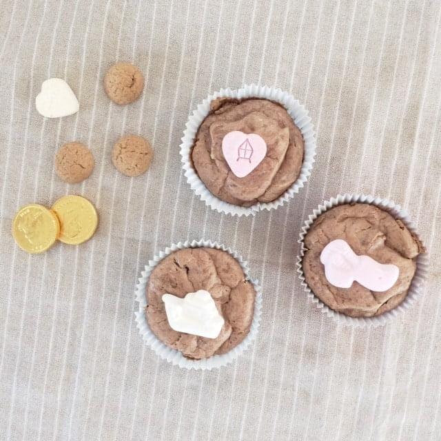 Sinterklaas cheesecake cupcakes