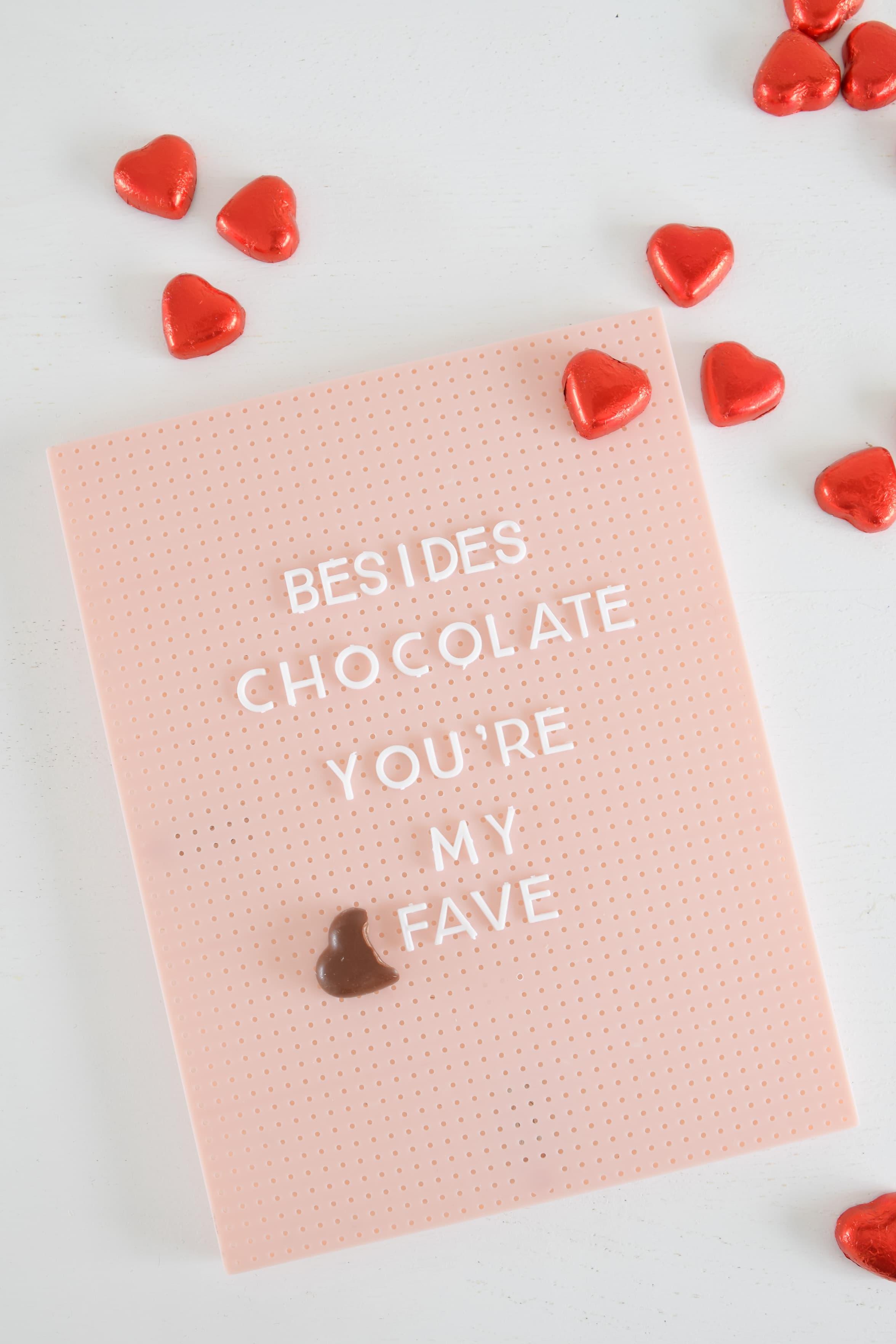 chocolate quote valentijn