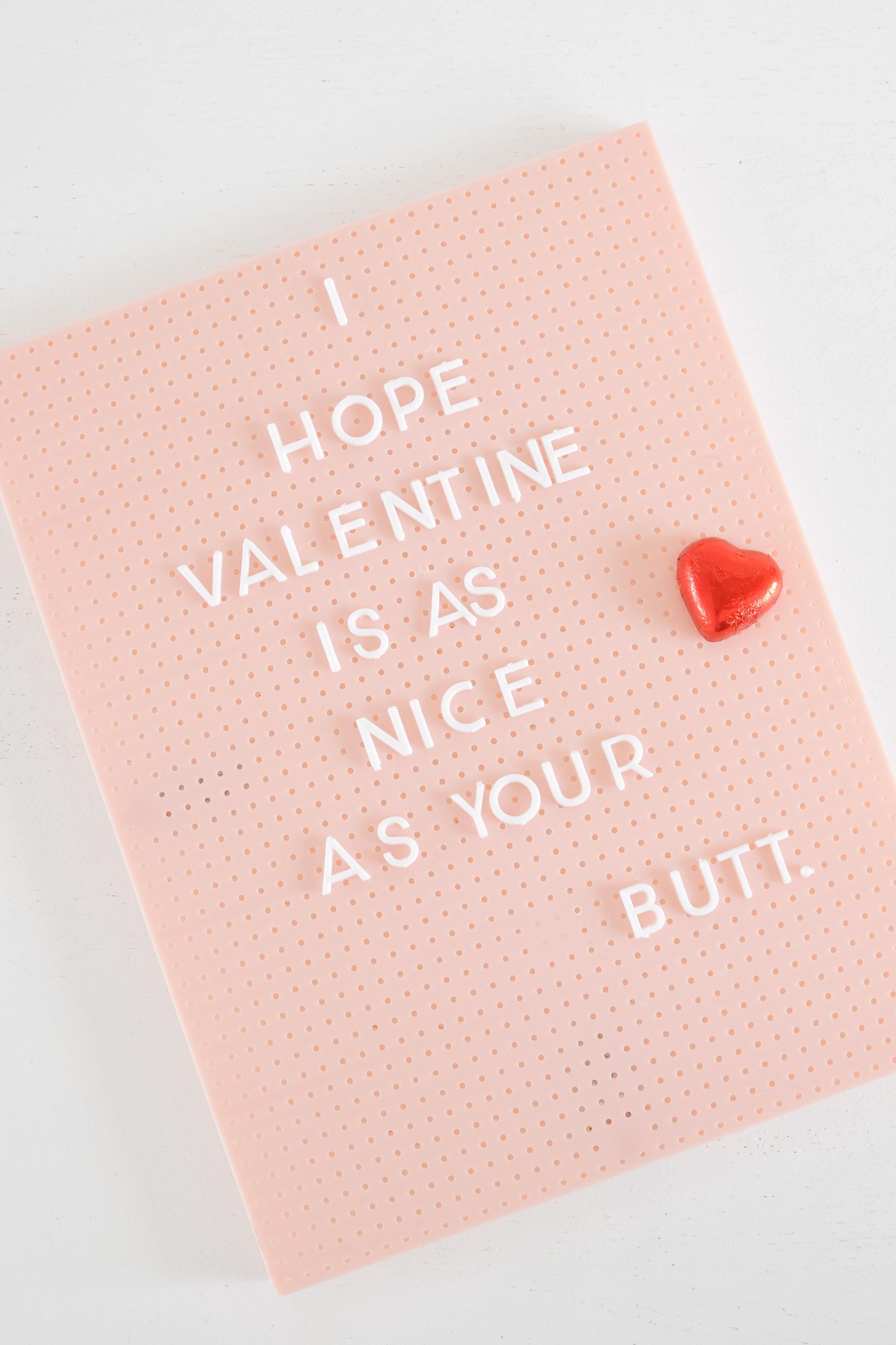 letterbord tekst valentijn