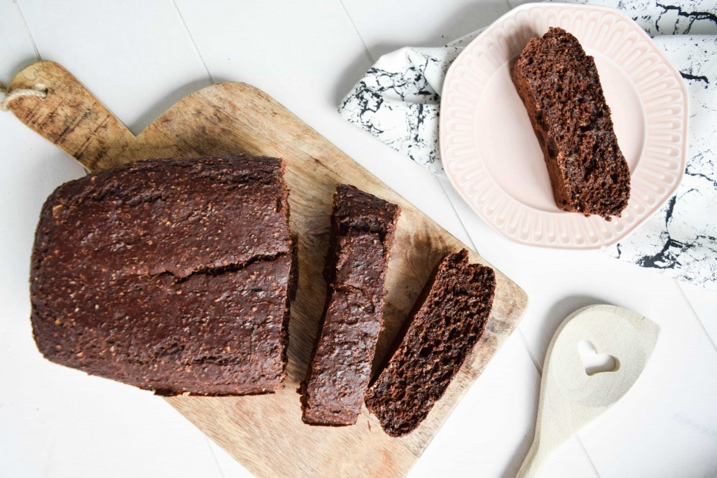 courgette chococake recept