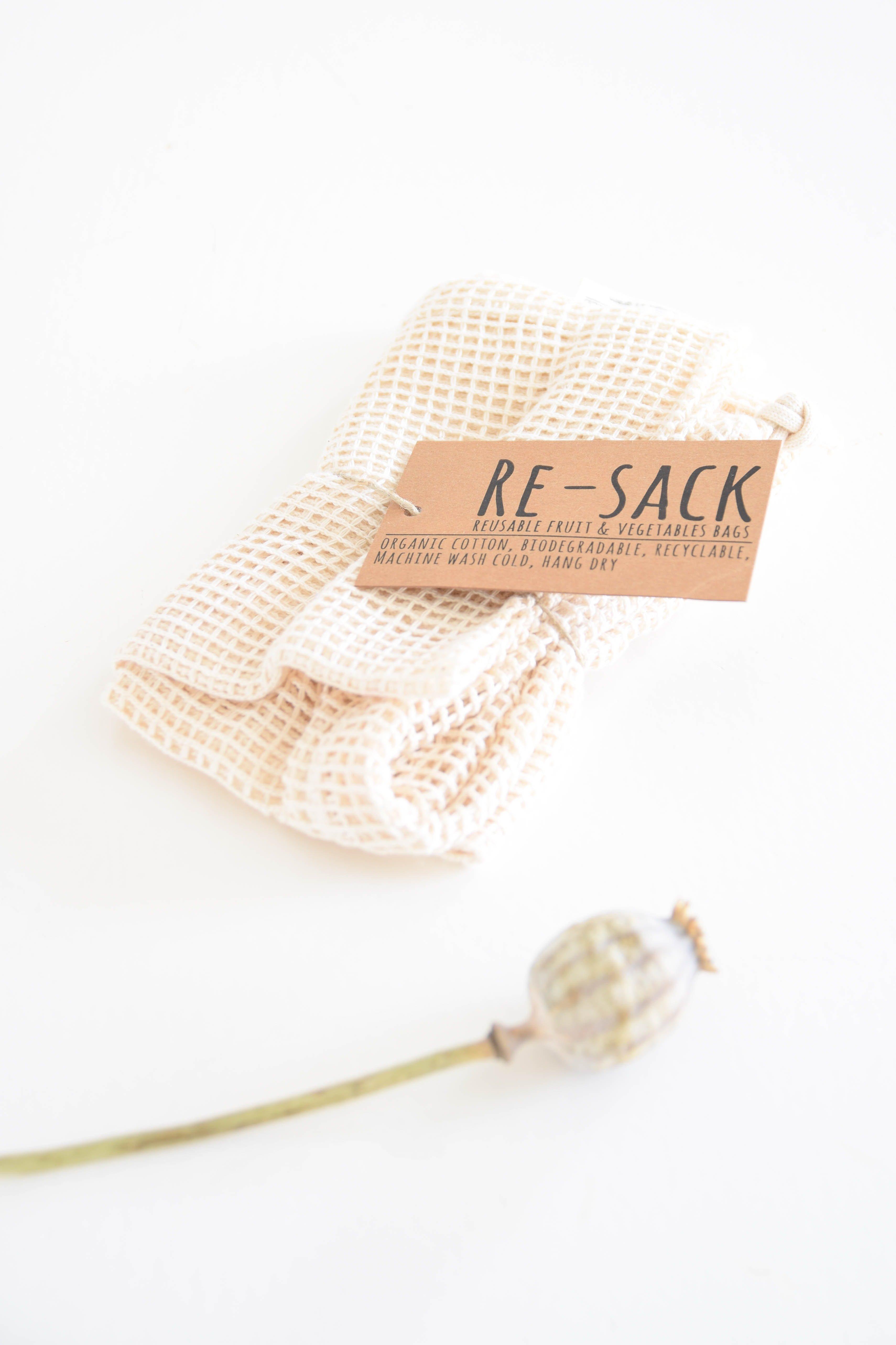 Re-sack plastic terugdringen