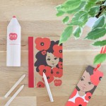Puck & Poppies stationery