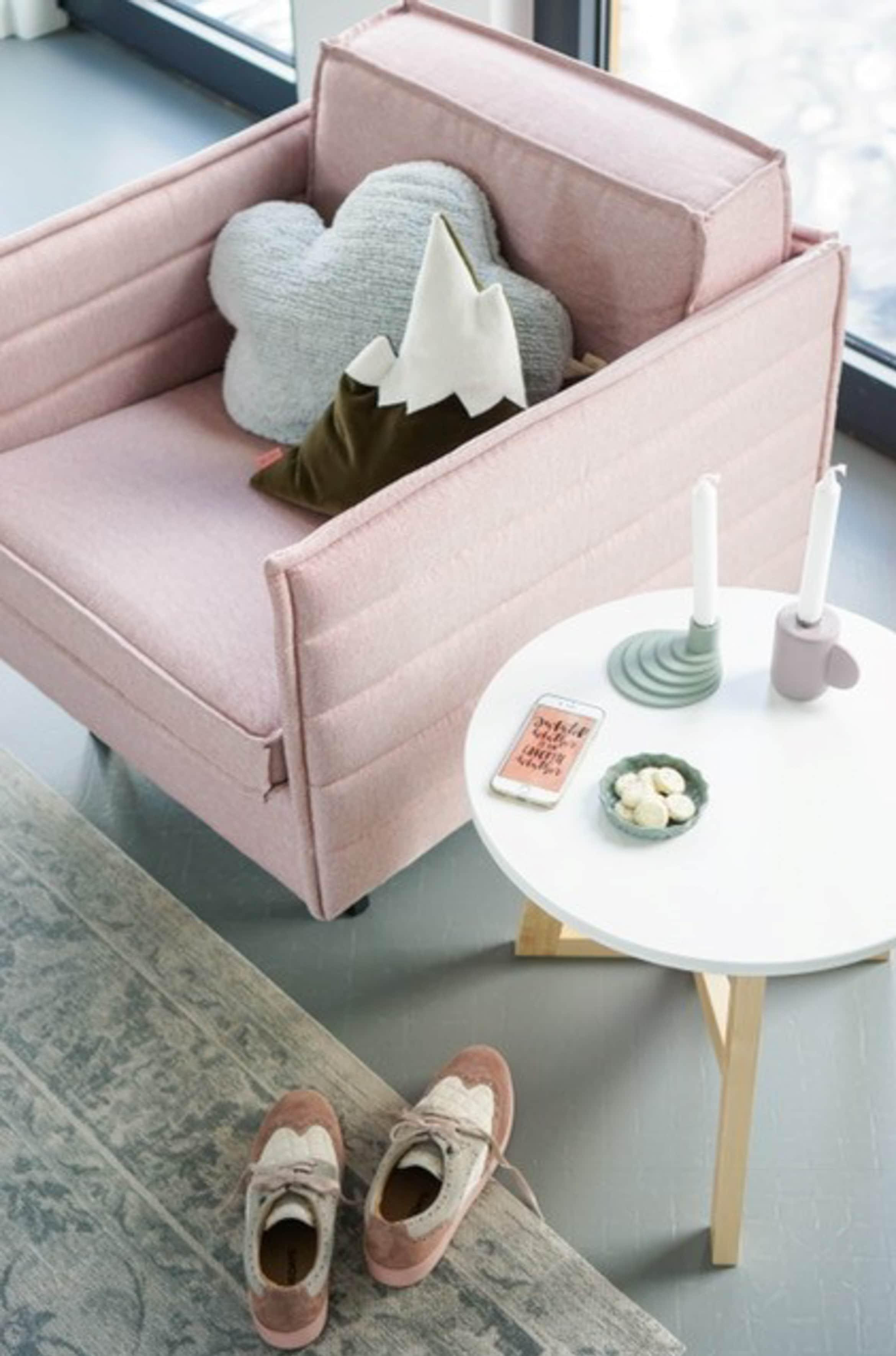 wehkamp roze stoel