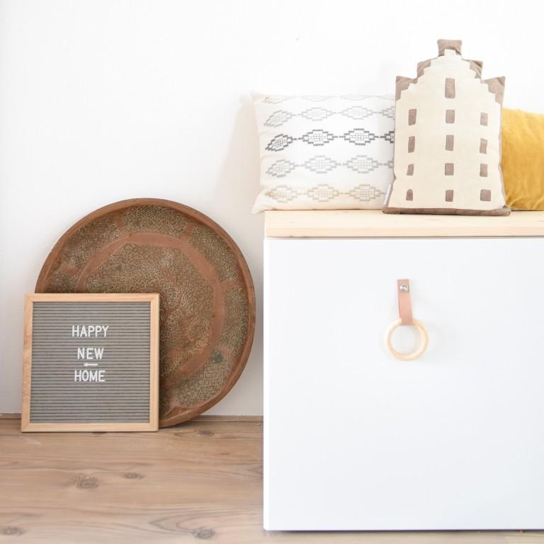 DIY Ikea Stuva – een bankje aan de eettafel