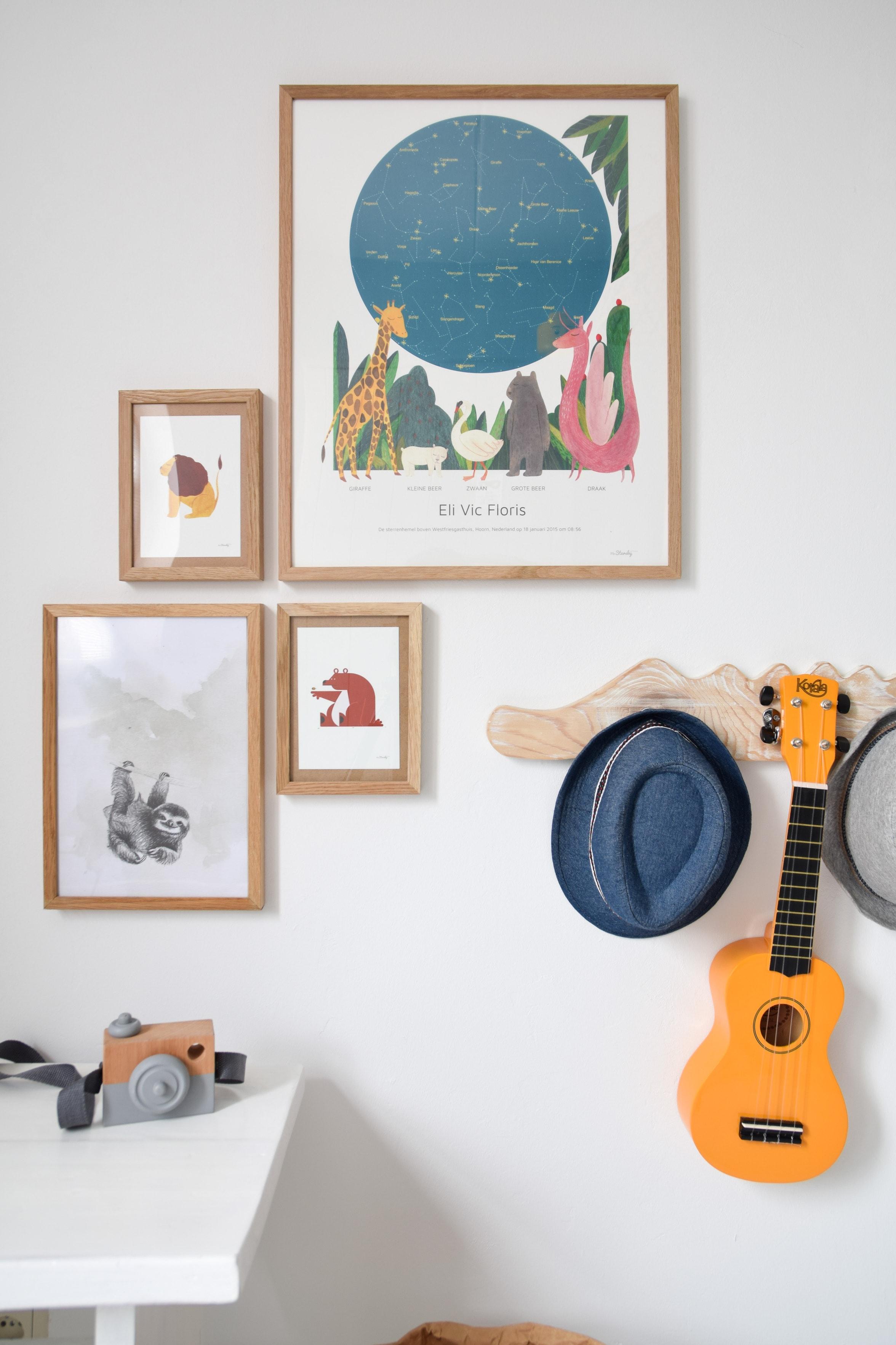 poster peuter slaapkamer
