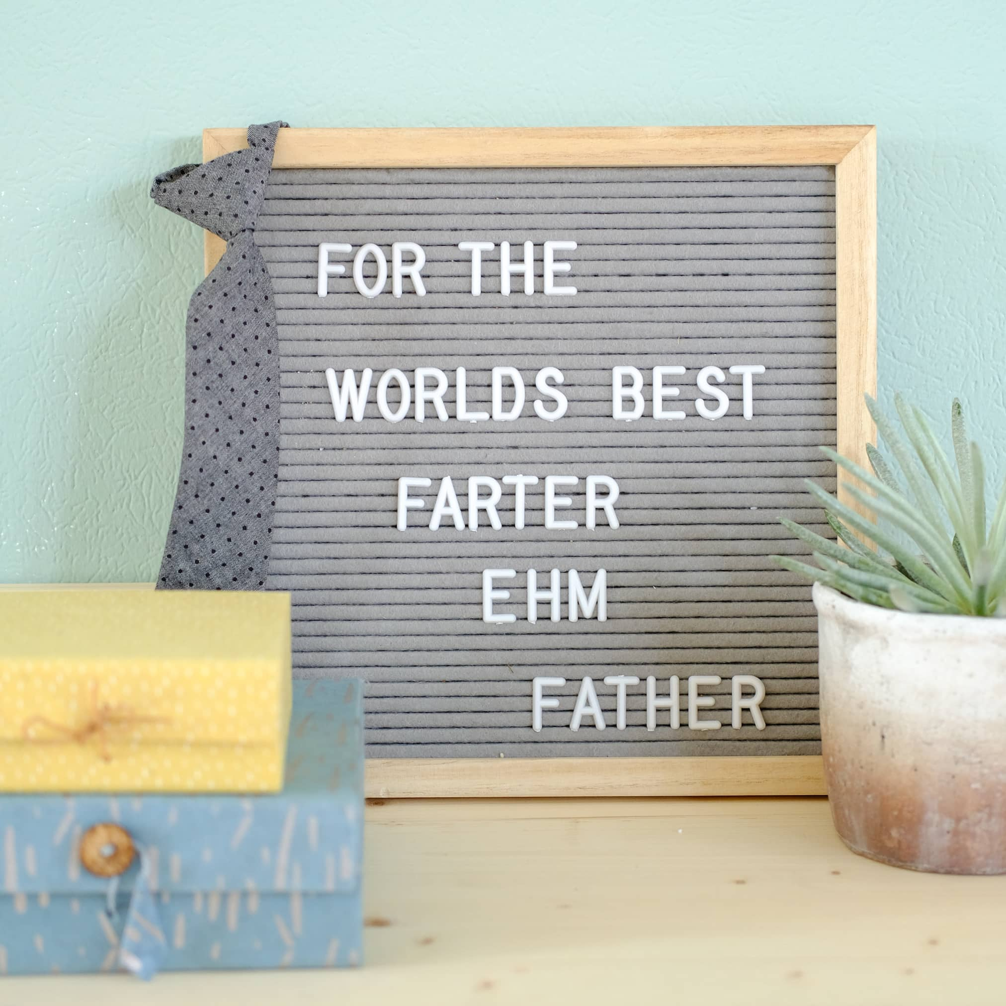duurzame cadeaus voor vaderdag