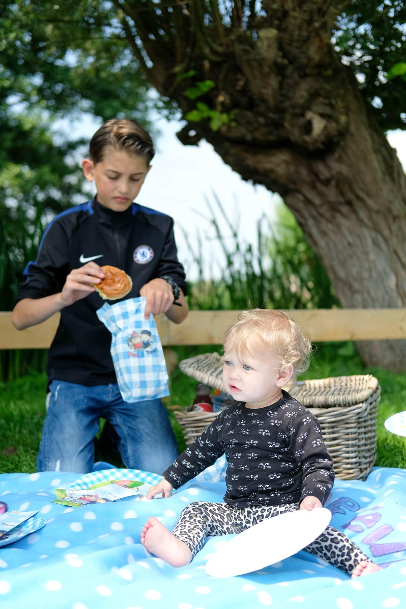 picknicken in groot ammers