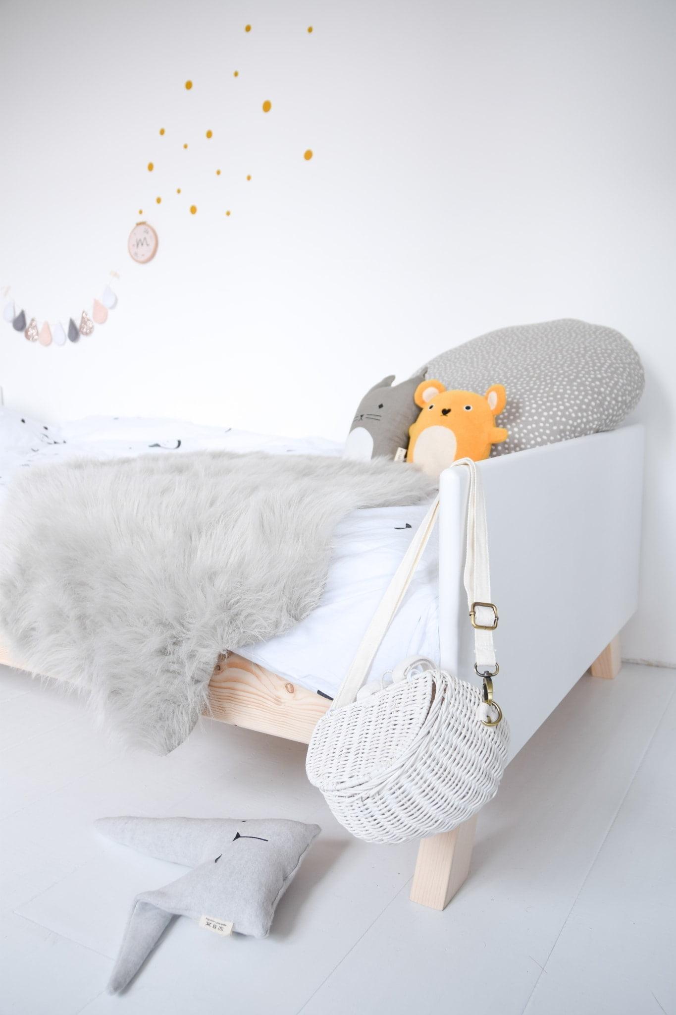eenpersoonsbed peuter wit