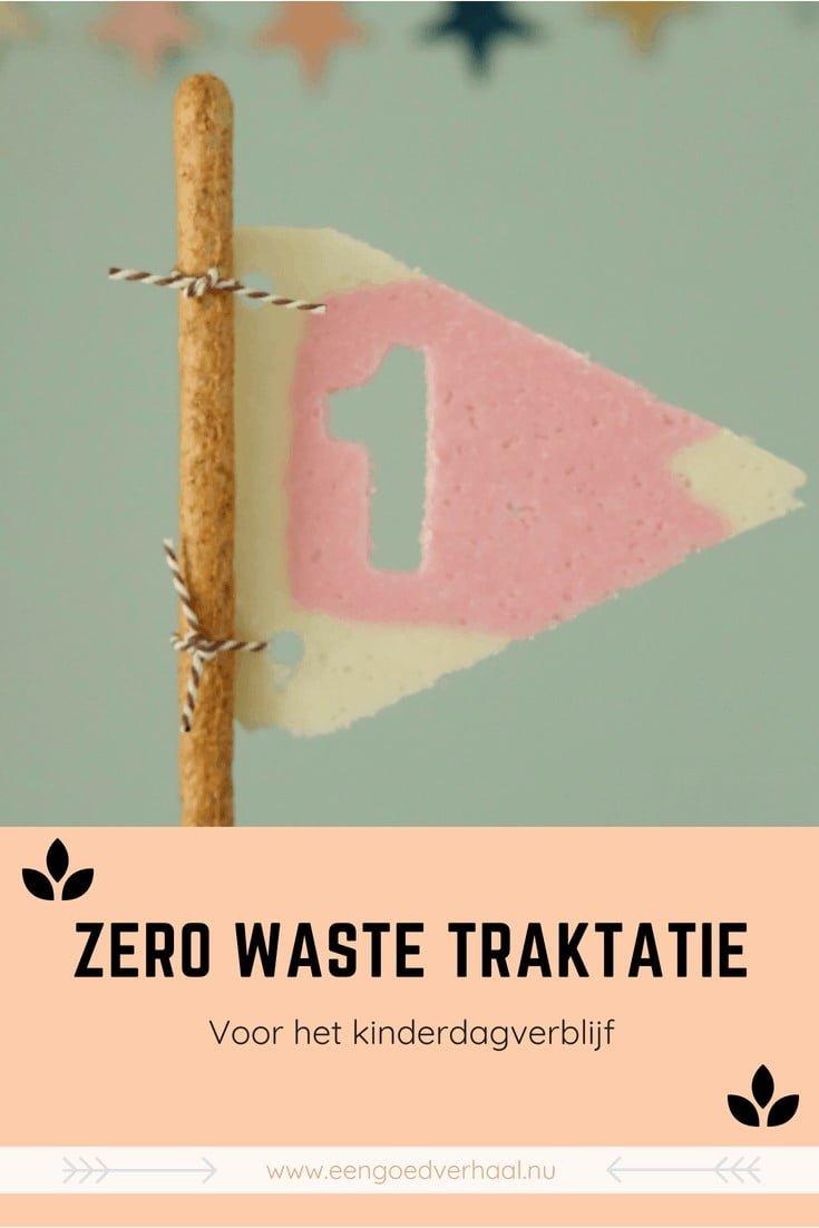 zero waste traktatie voor het kinderdagverblijf