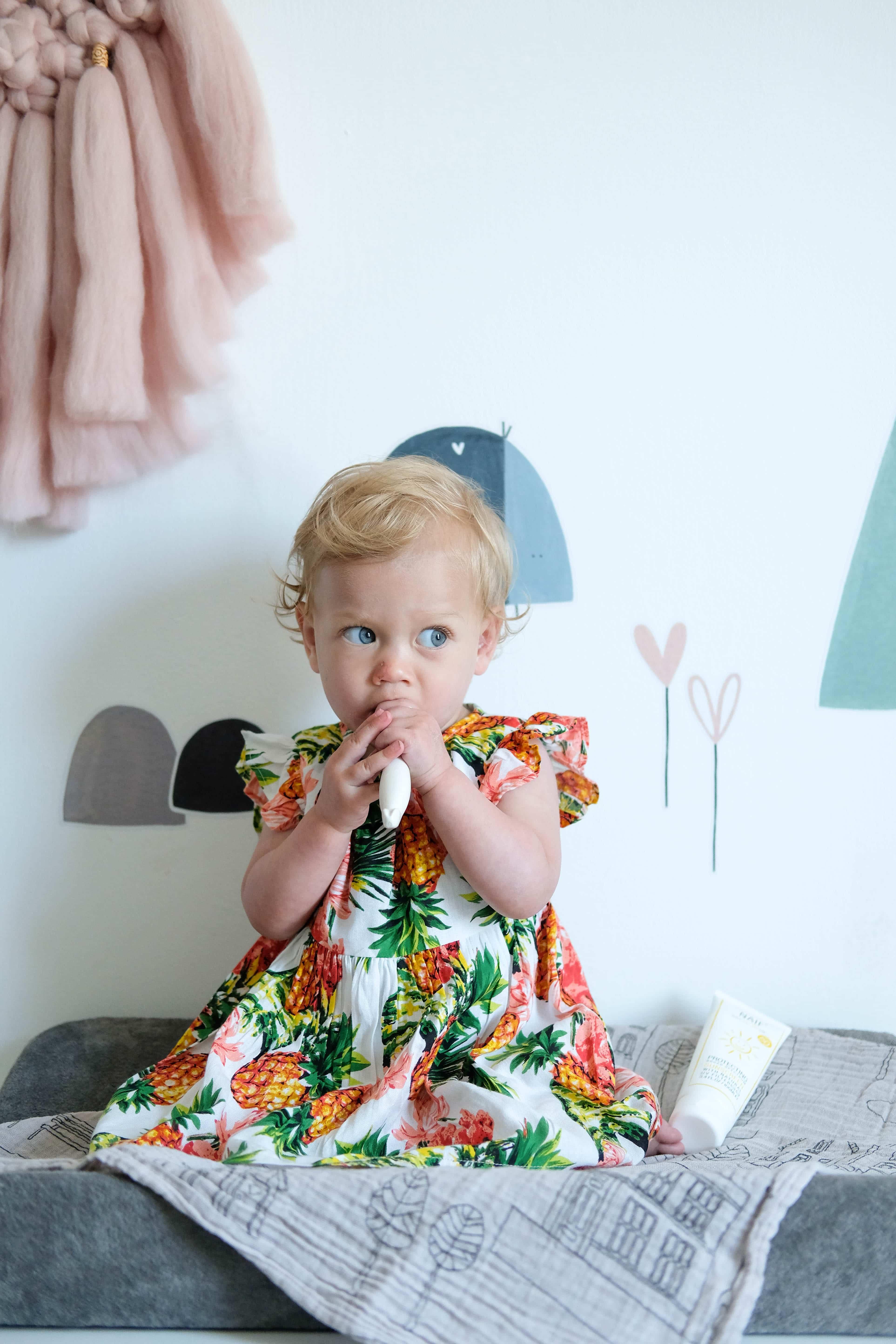 bohemian babykamer stylen