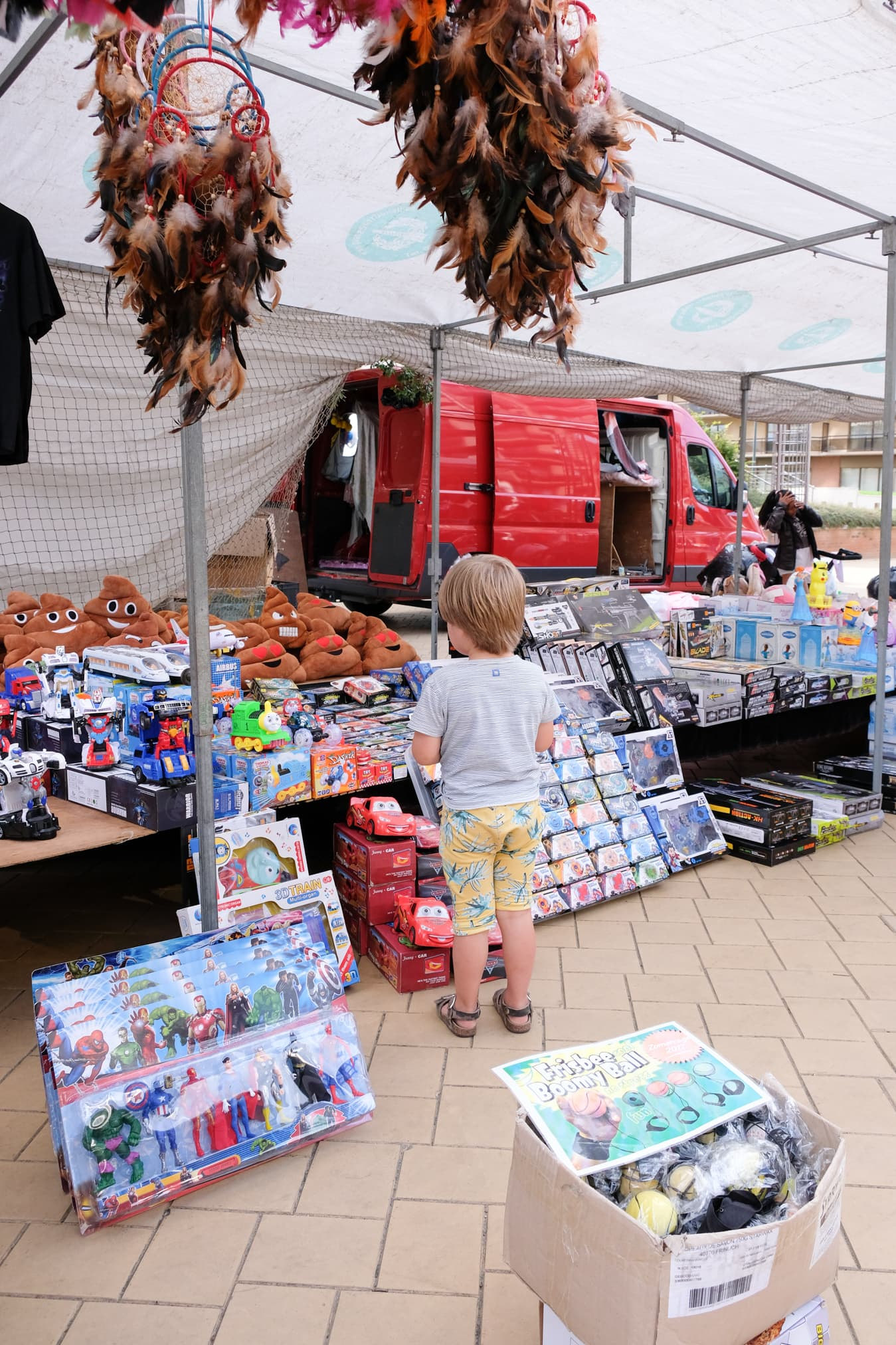 markt boulevard strand de panne