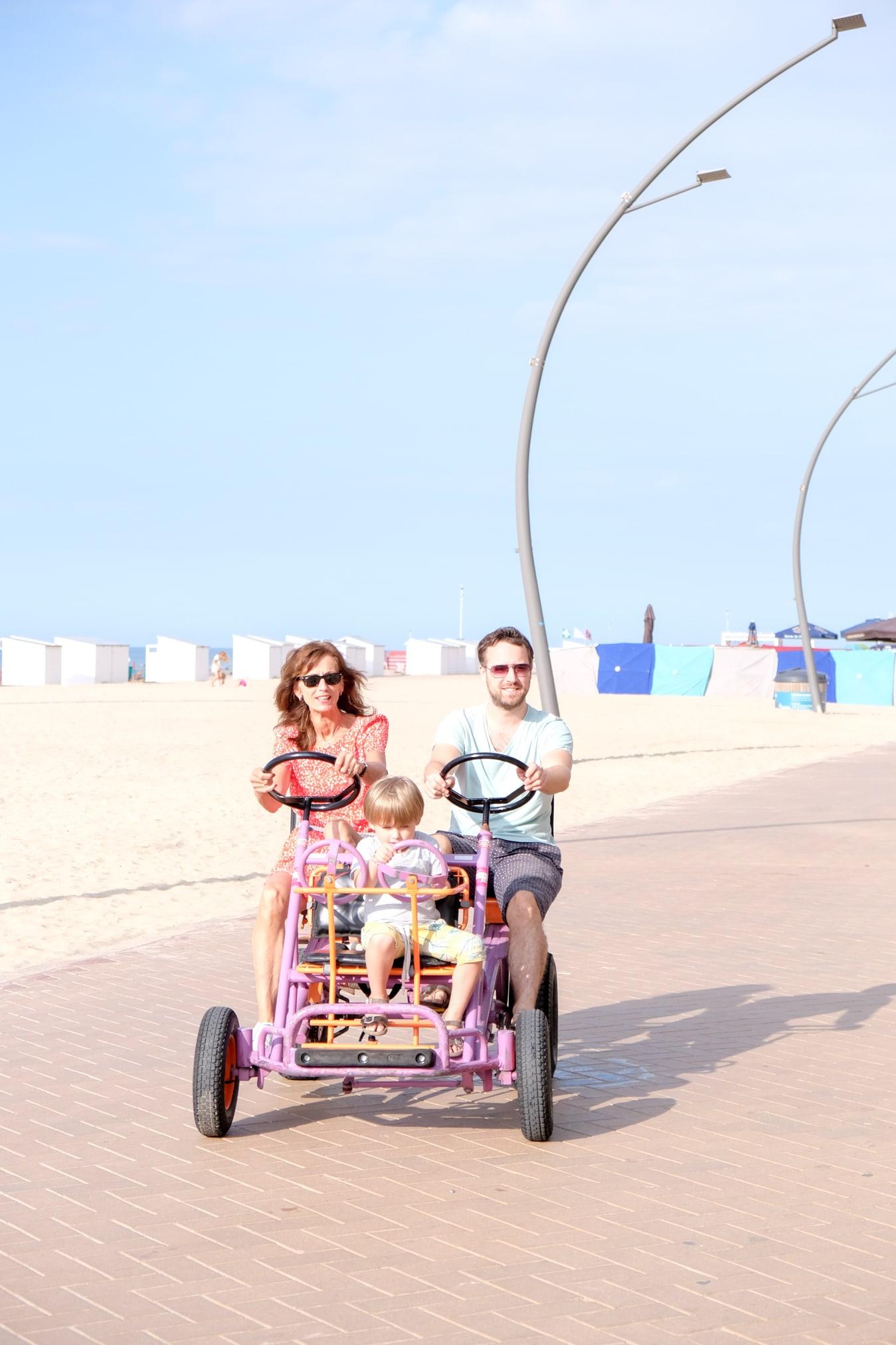 de panne strand fietsverhuur