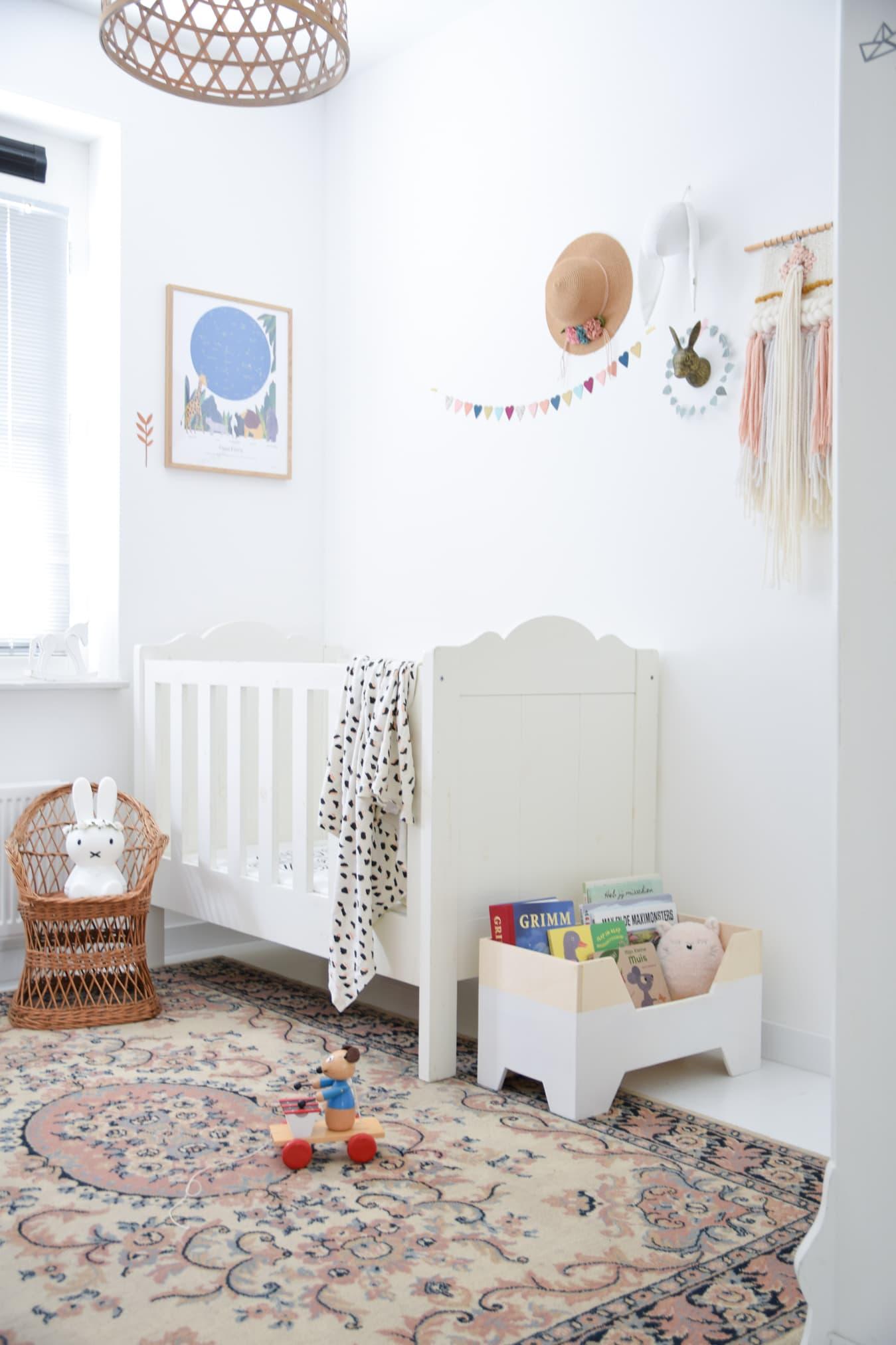 babykamer met bohemian look
