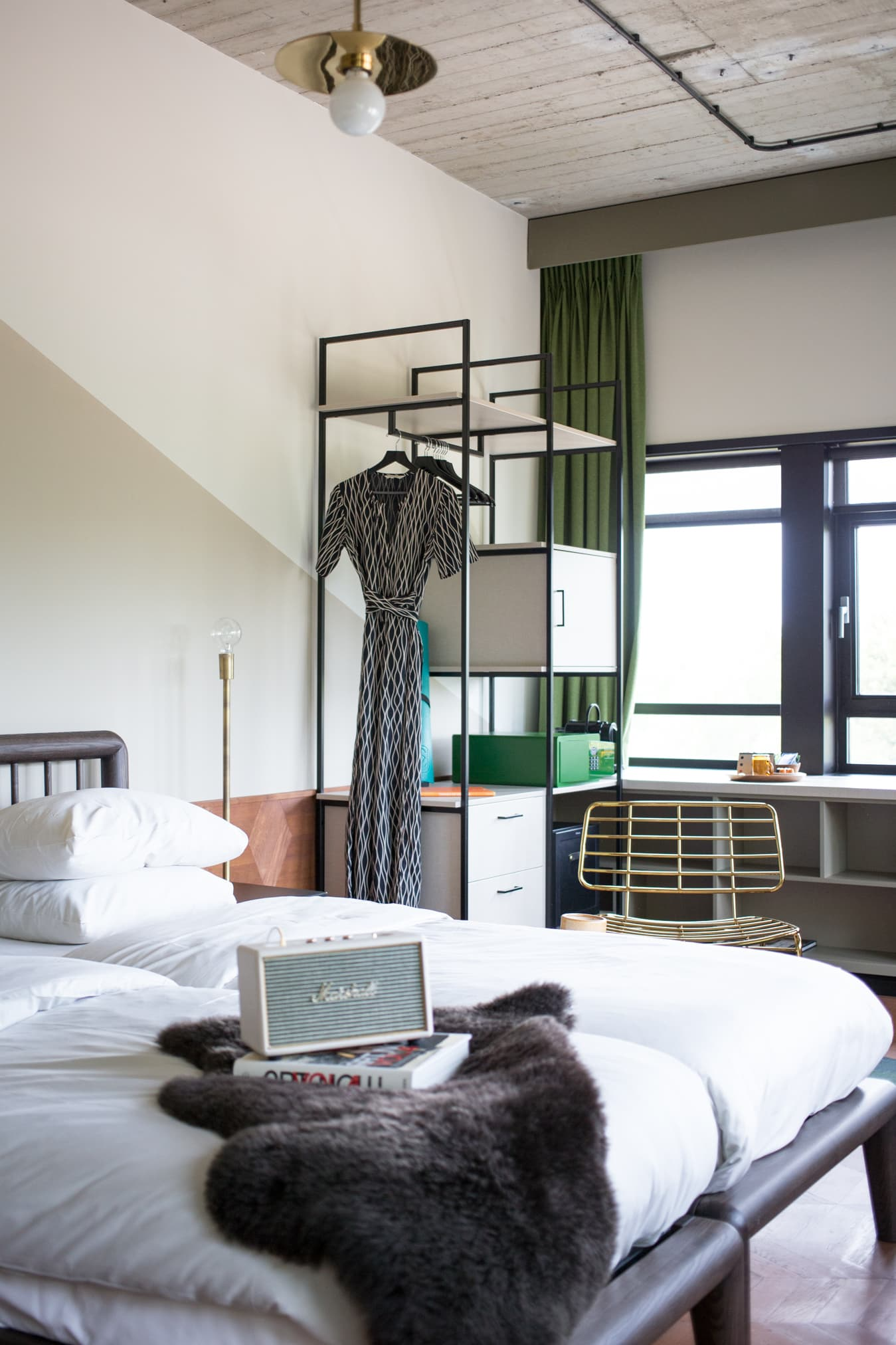 kamer overnachting hotel v amsterdam