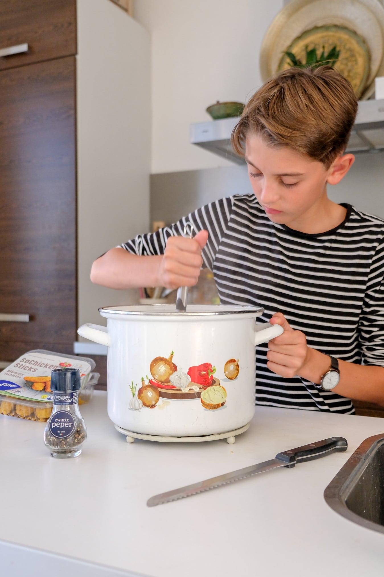 gerechten maken tieners