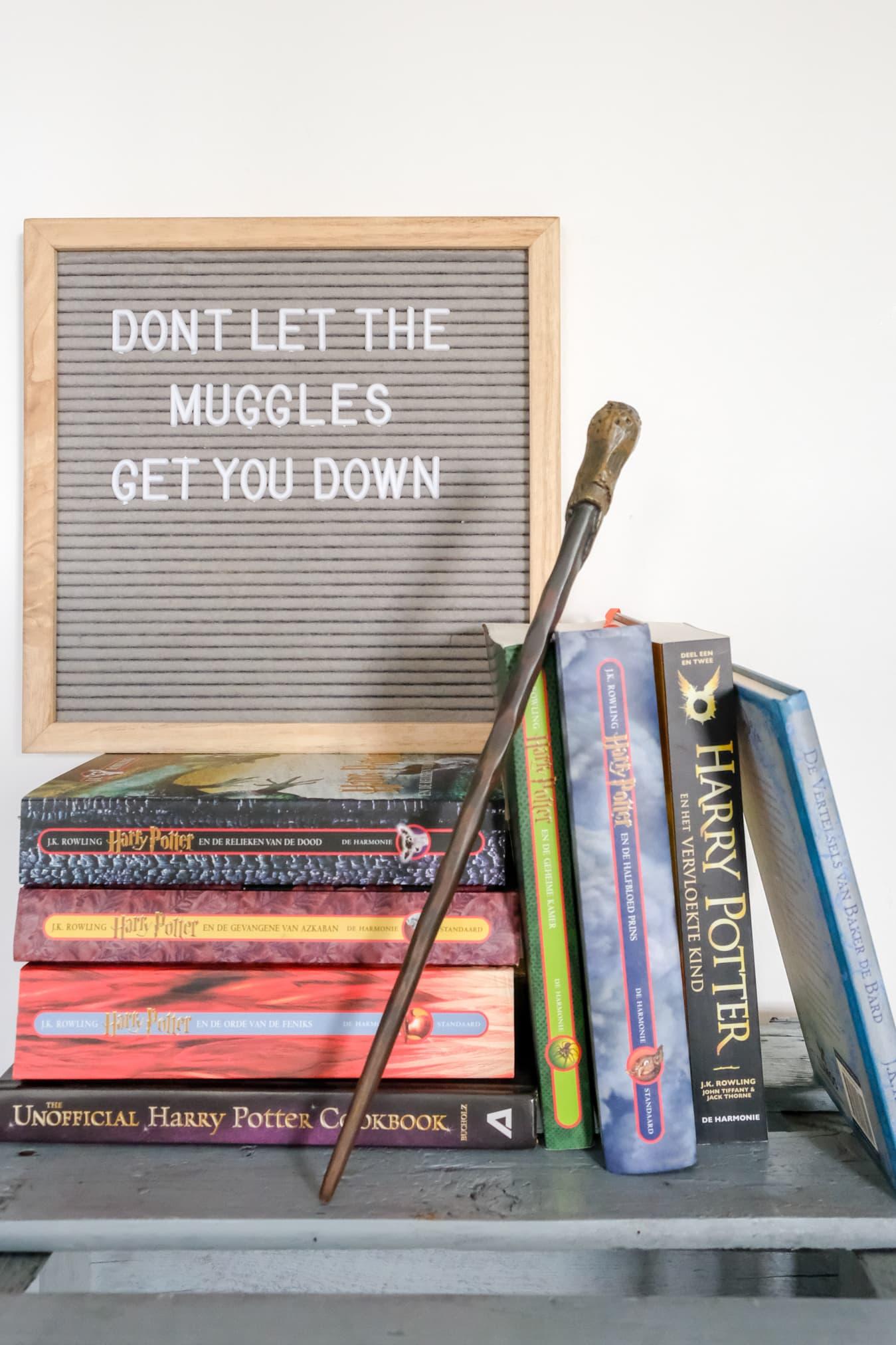 citaat harry potter boek