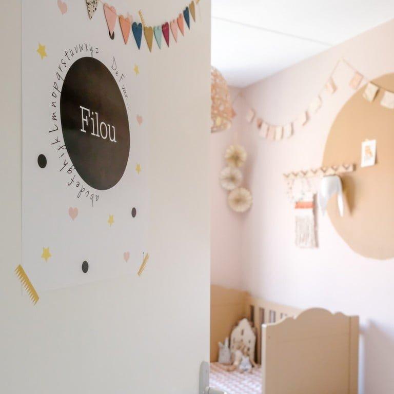 De Spiced Honey babykamer: Make-over met de Flexa trendkleur