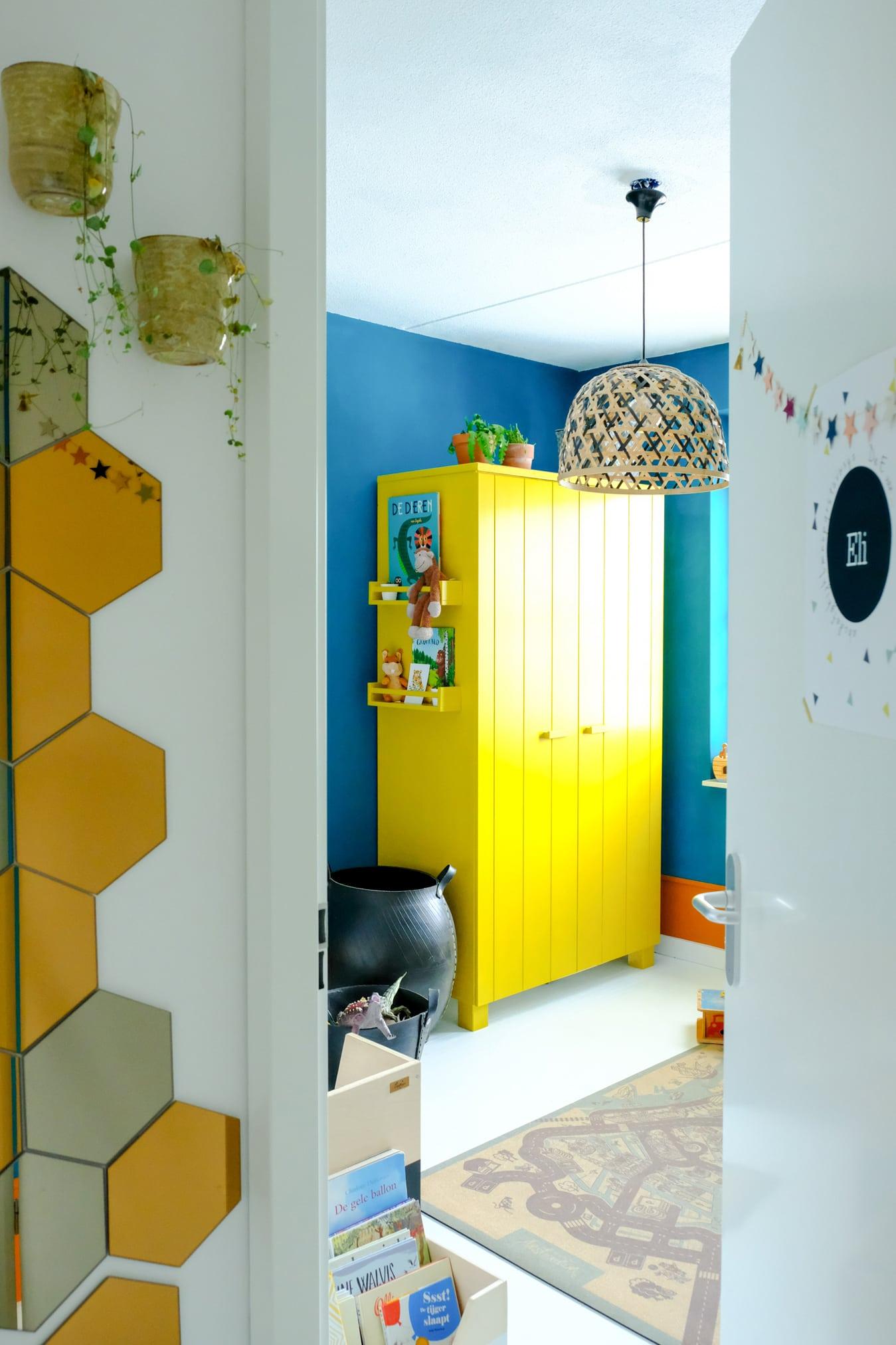 kleurrijke peuterkamer met flexa creations