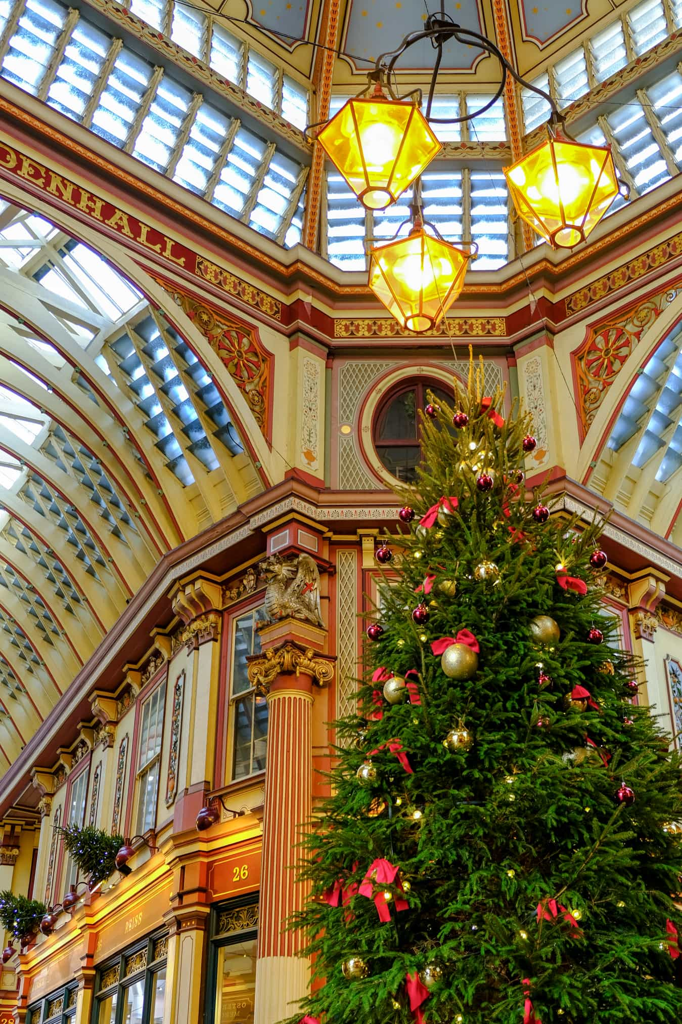 leadenhall market christmas time