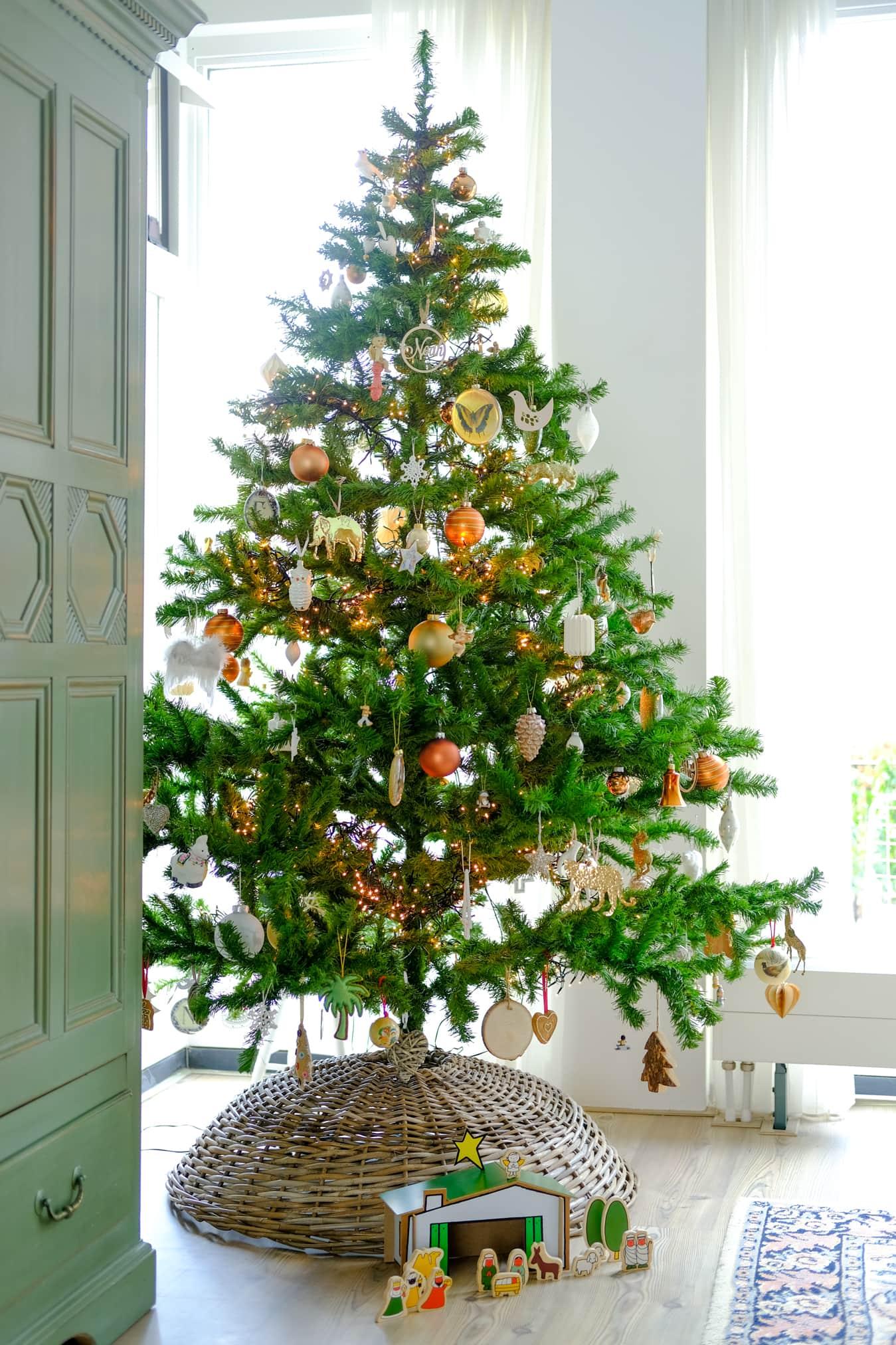 bonte kerstboom