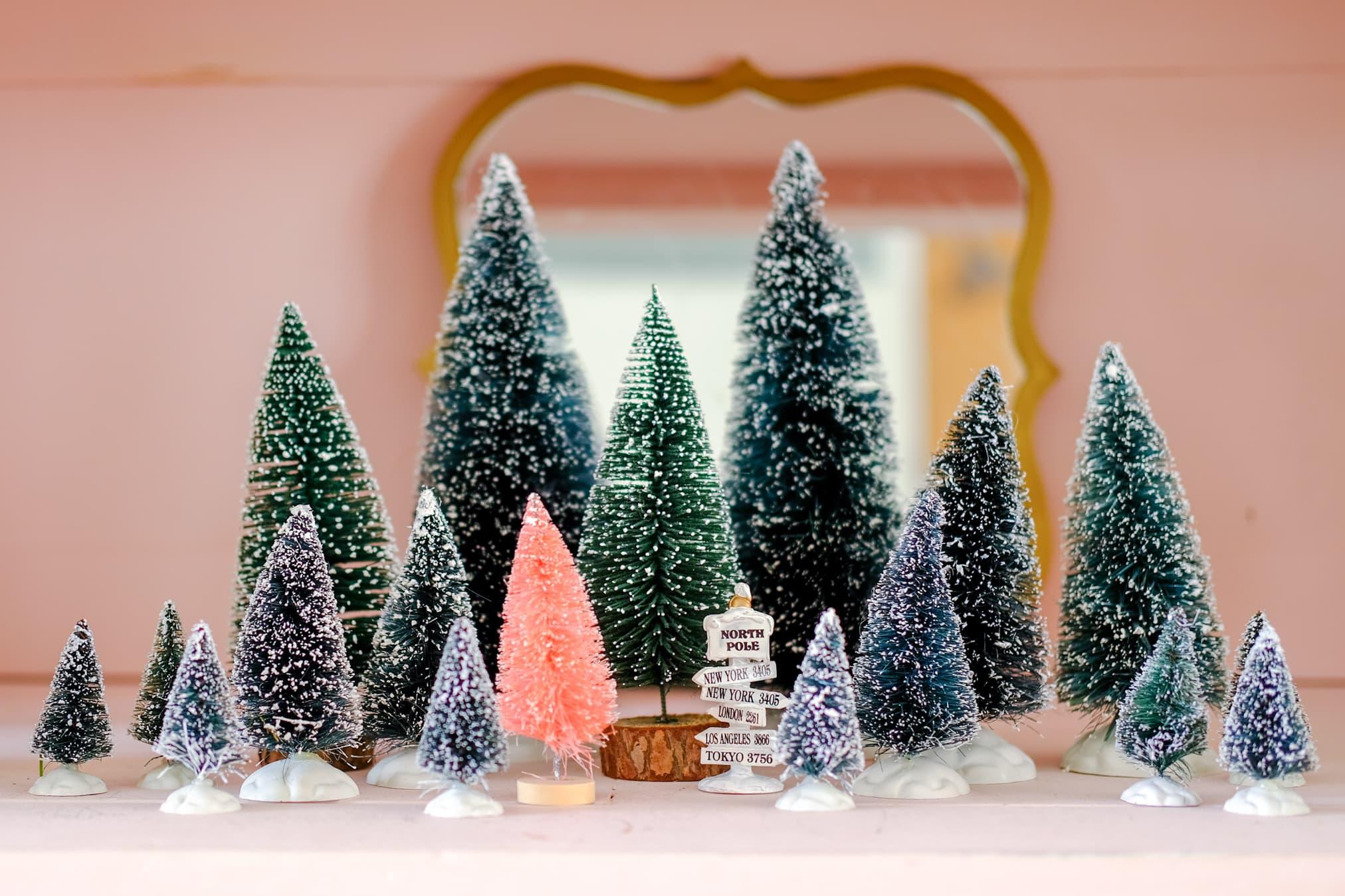 kerstbomen verzameling