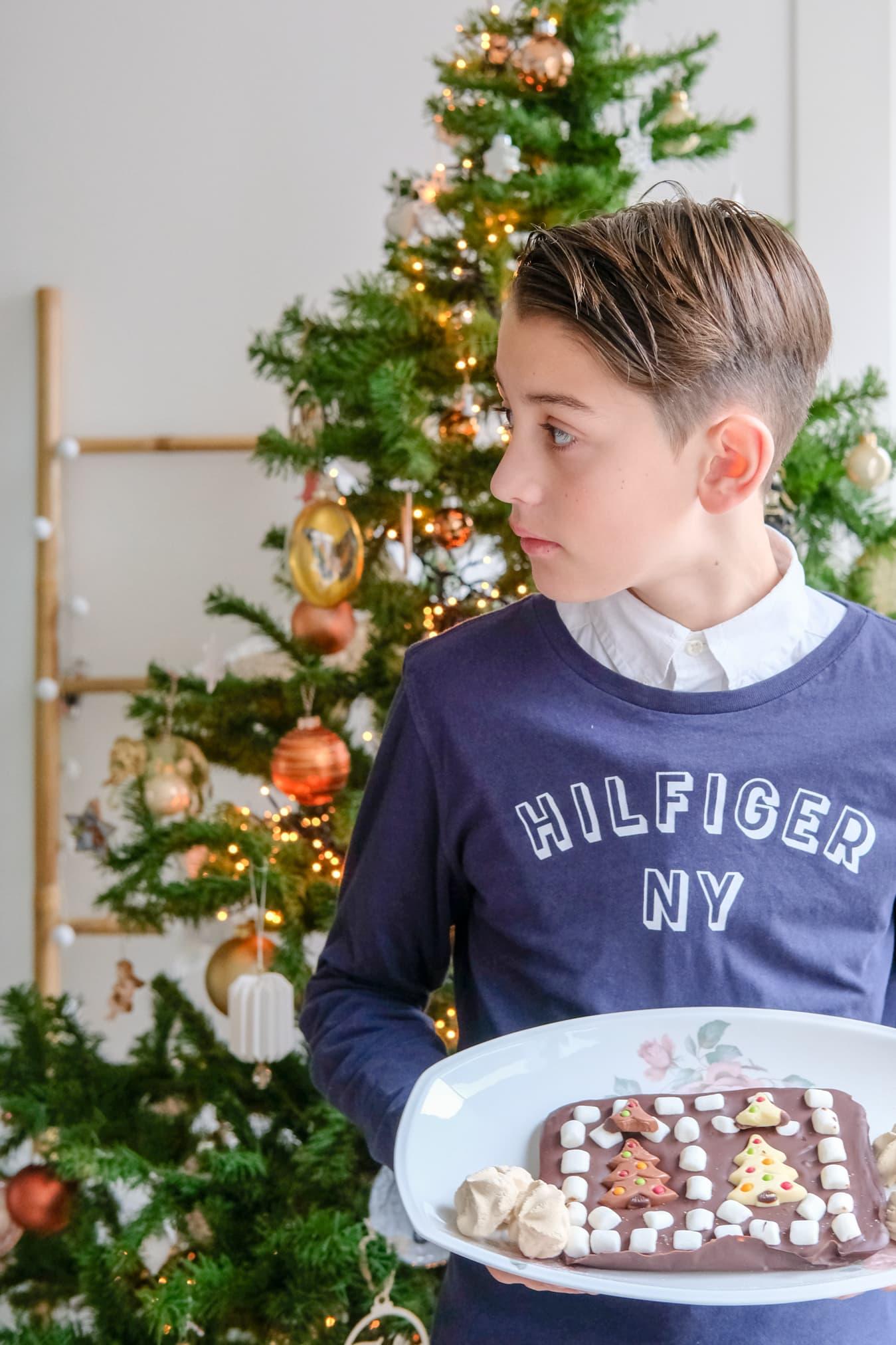 traktatie kerstontbijt middelbare school