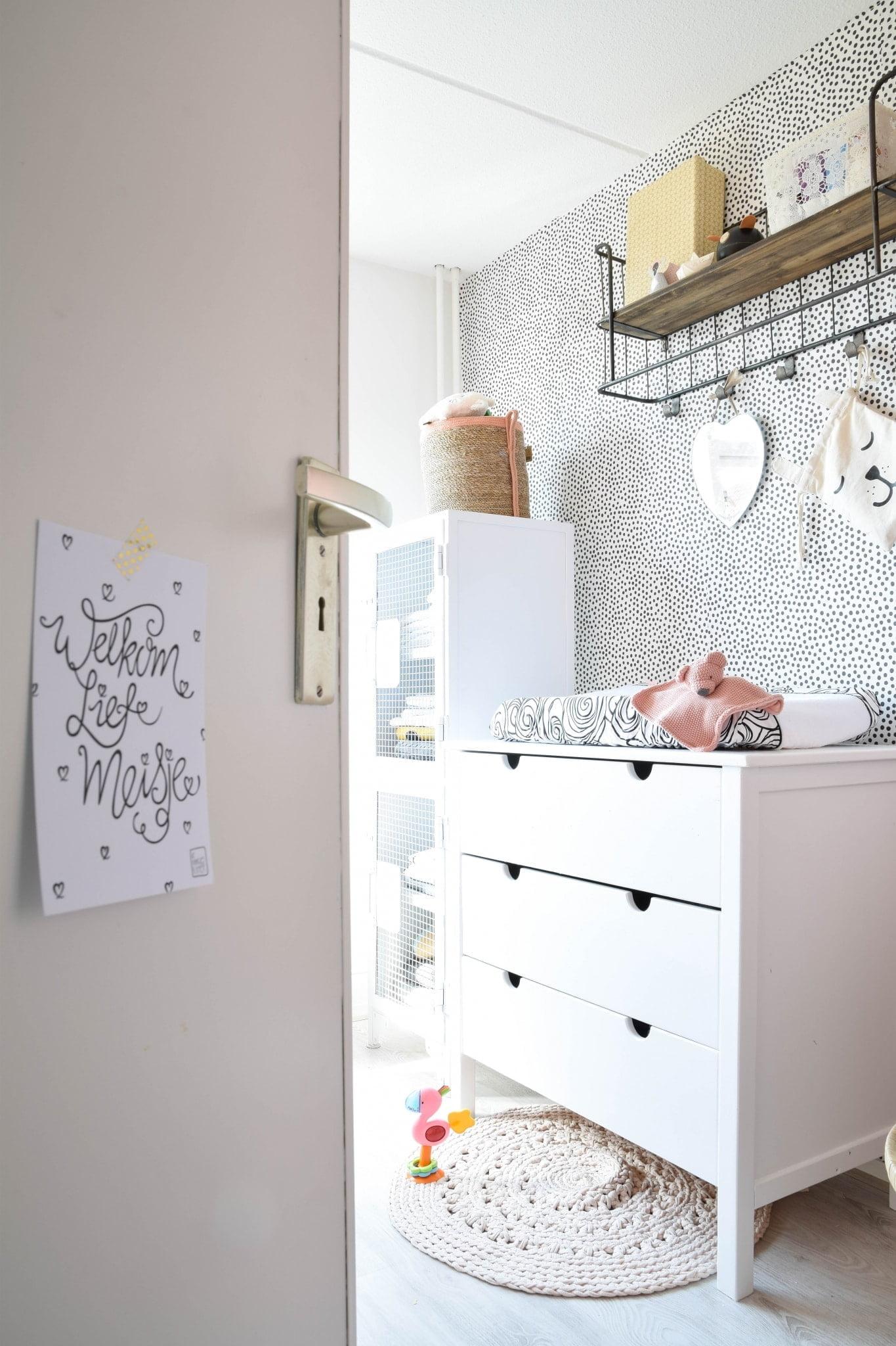 duurzame babykamer binnenkijker