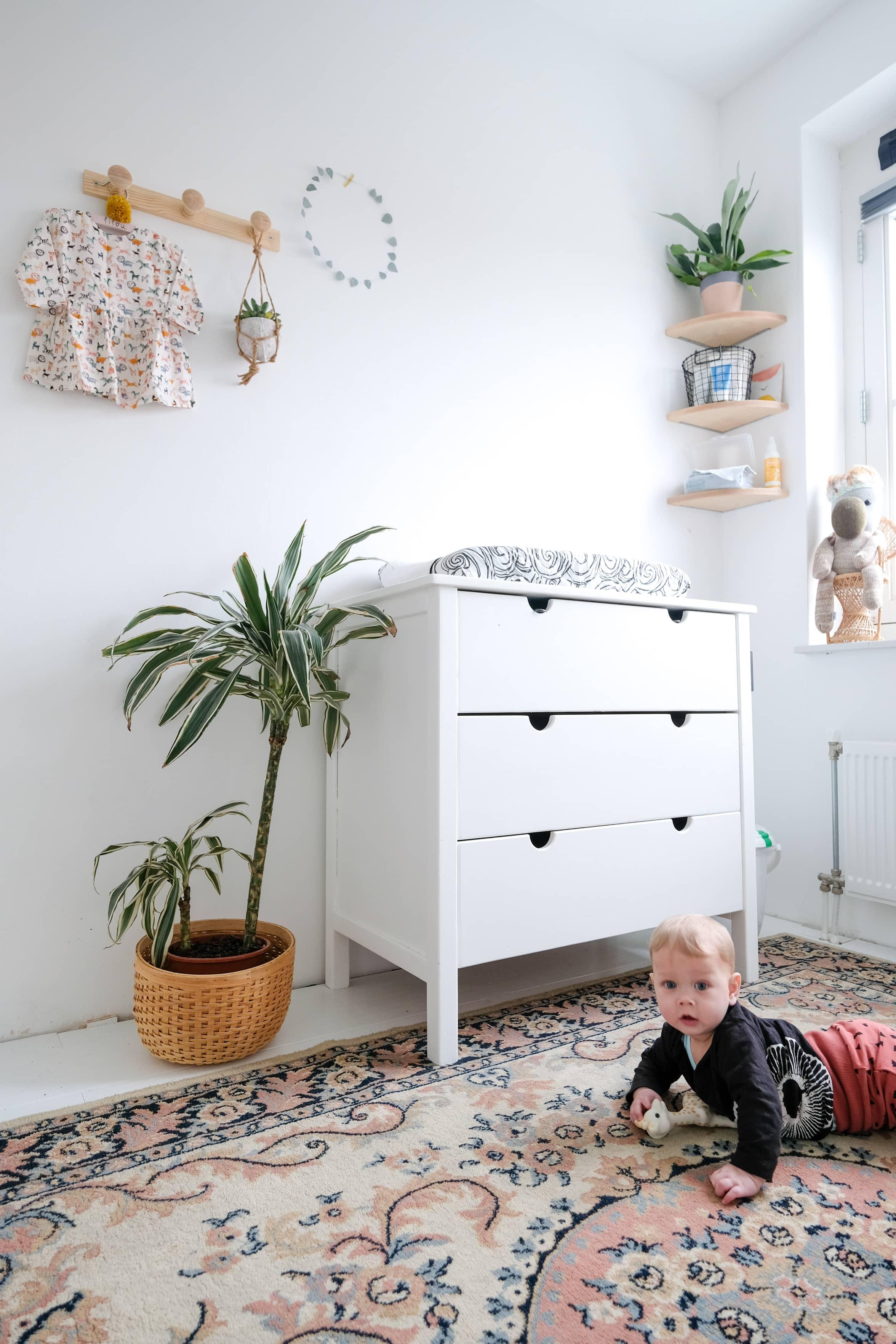 planten in de babykamer