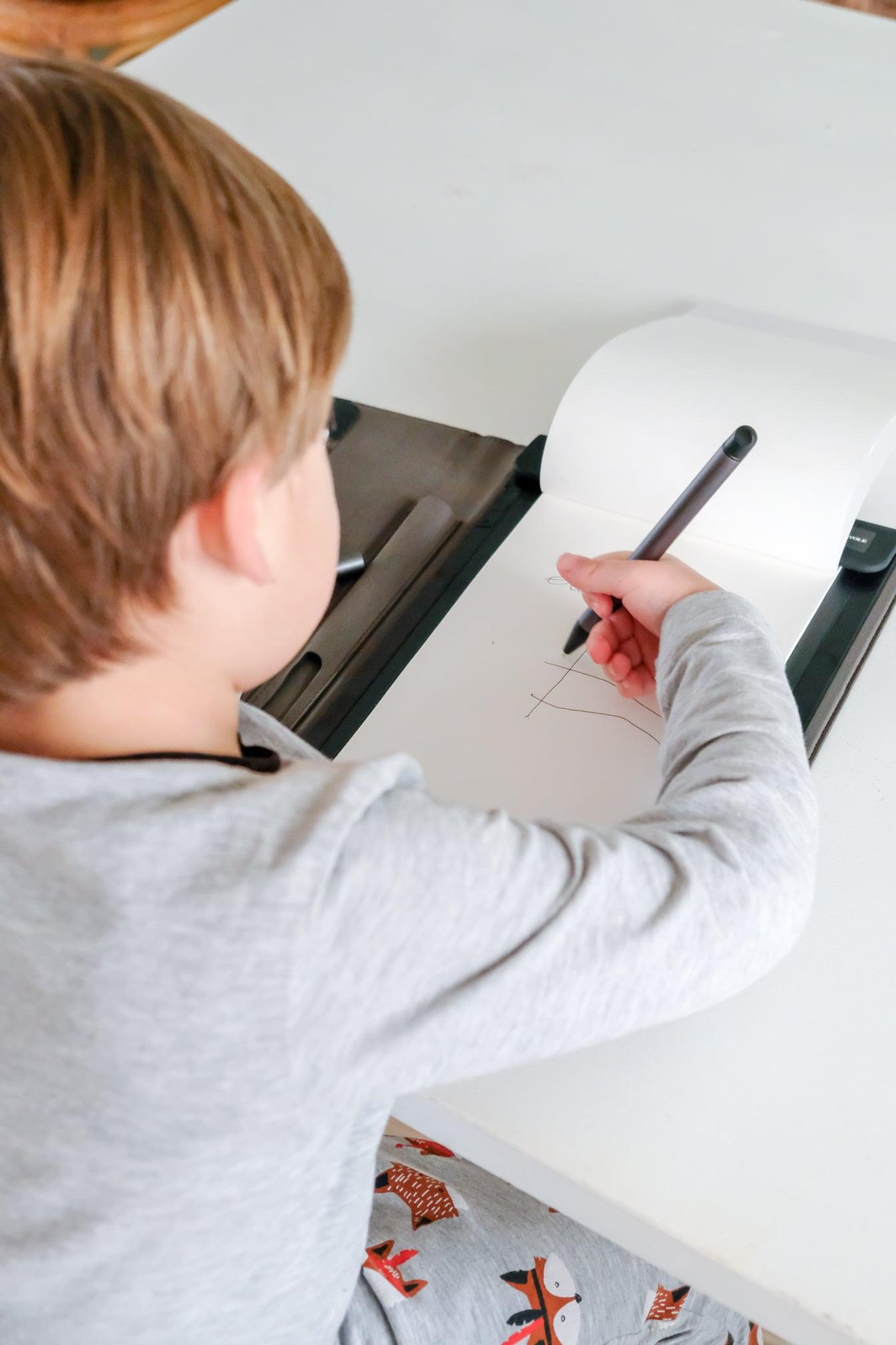 leren schrijven met de writing pad