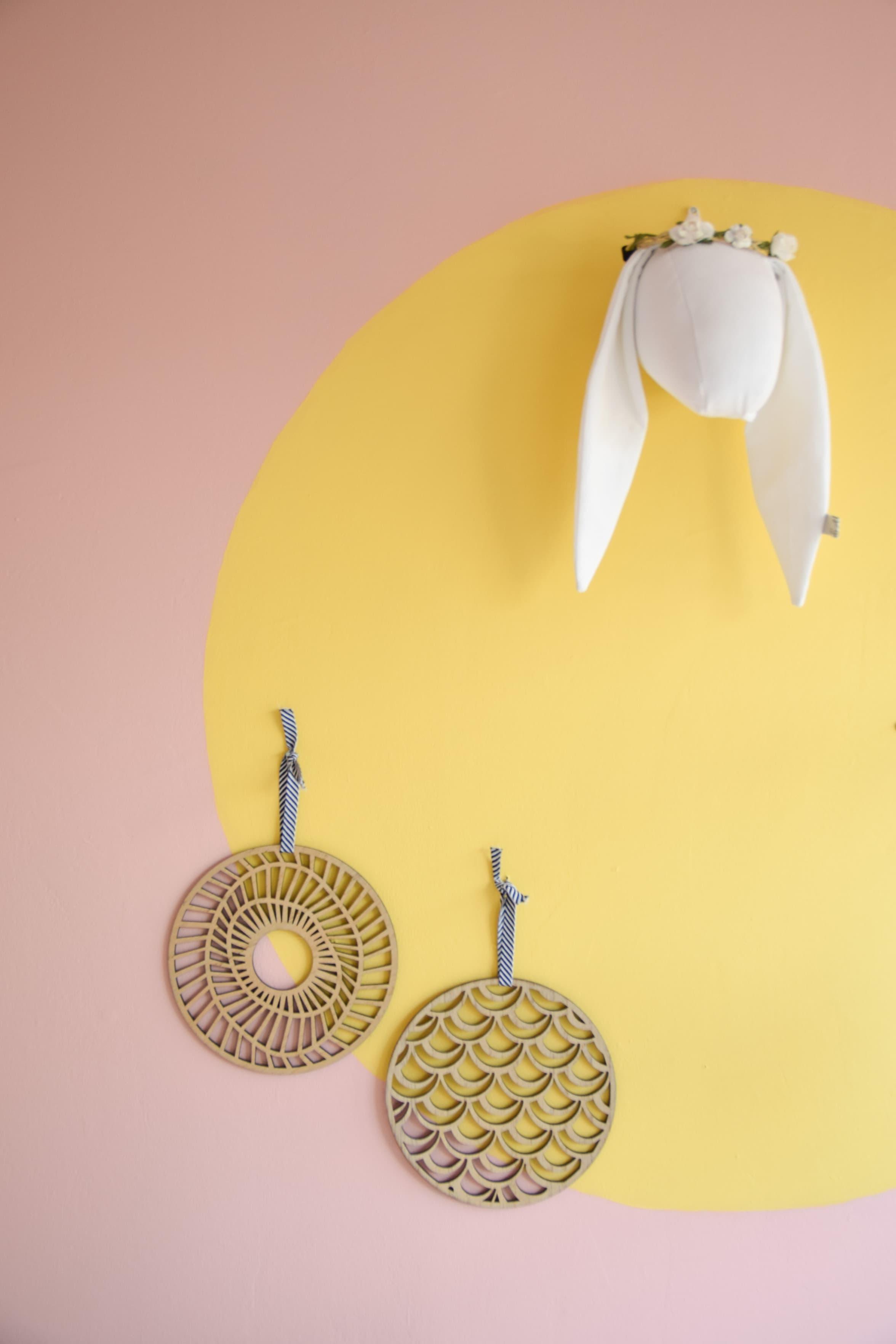 cirkel op de muur decoreren