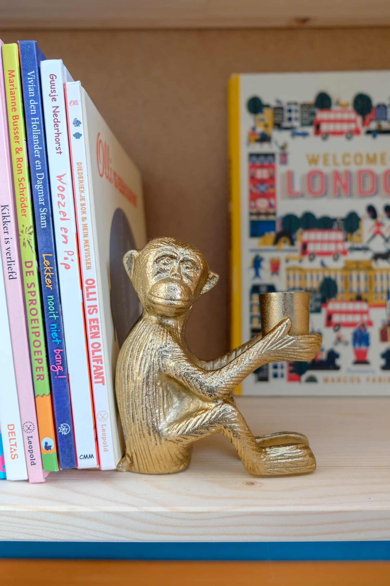 aapje boekensteun kinderkamer
