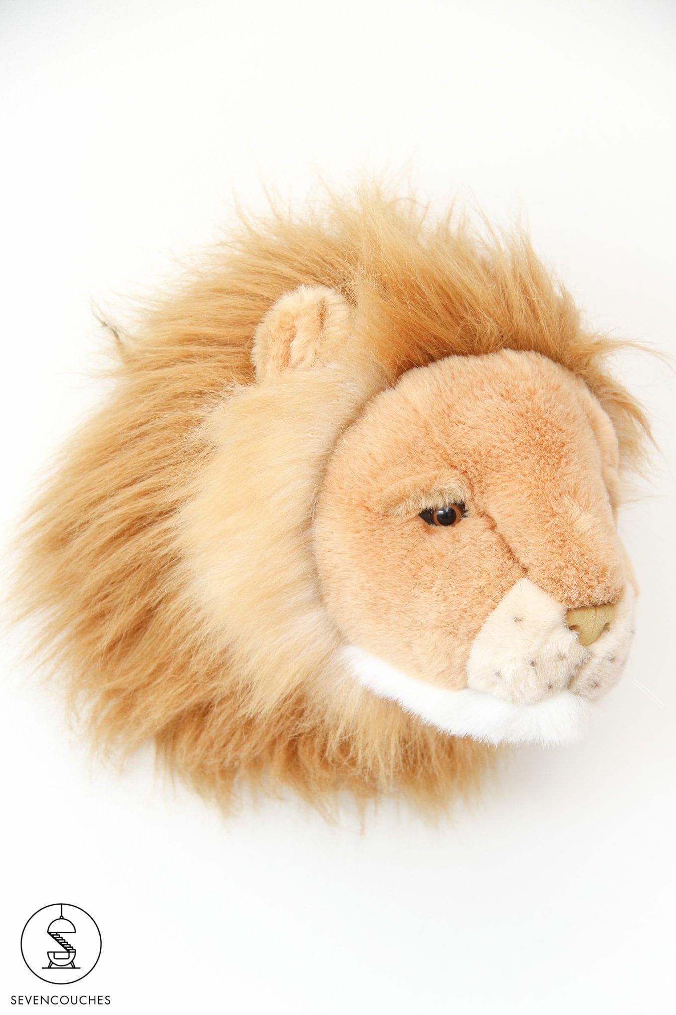leeuwenkop kinderkamer decoratie