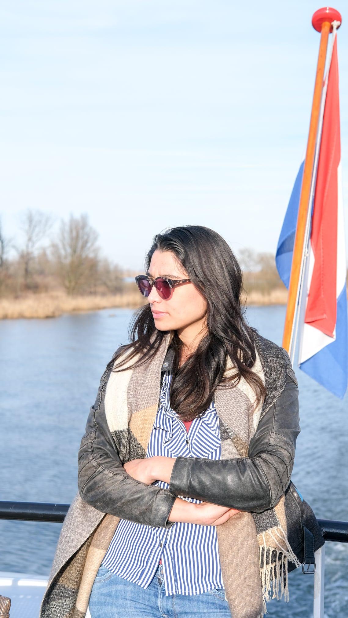 ronvaartboot natuurgebied biesbosch
