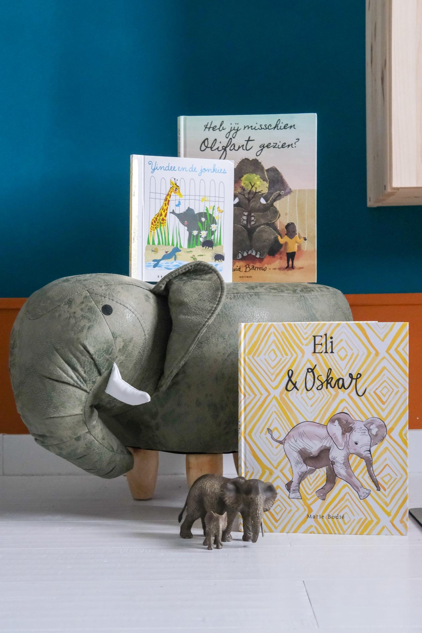 kinderboek over olifanten