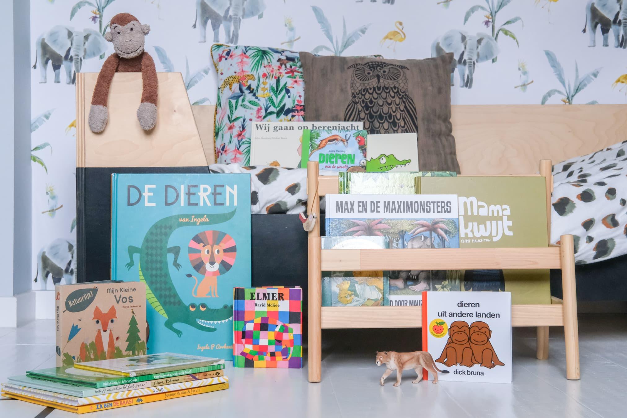 kinderboeken met jungle thema