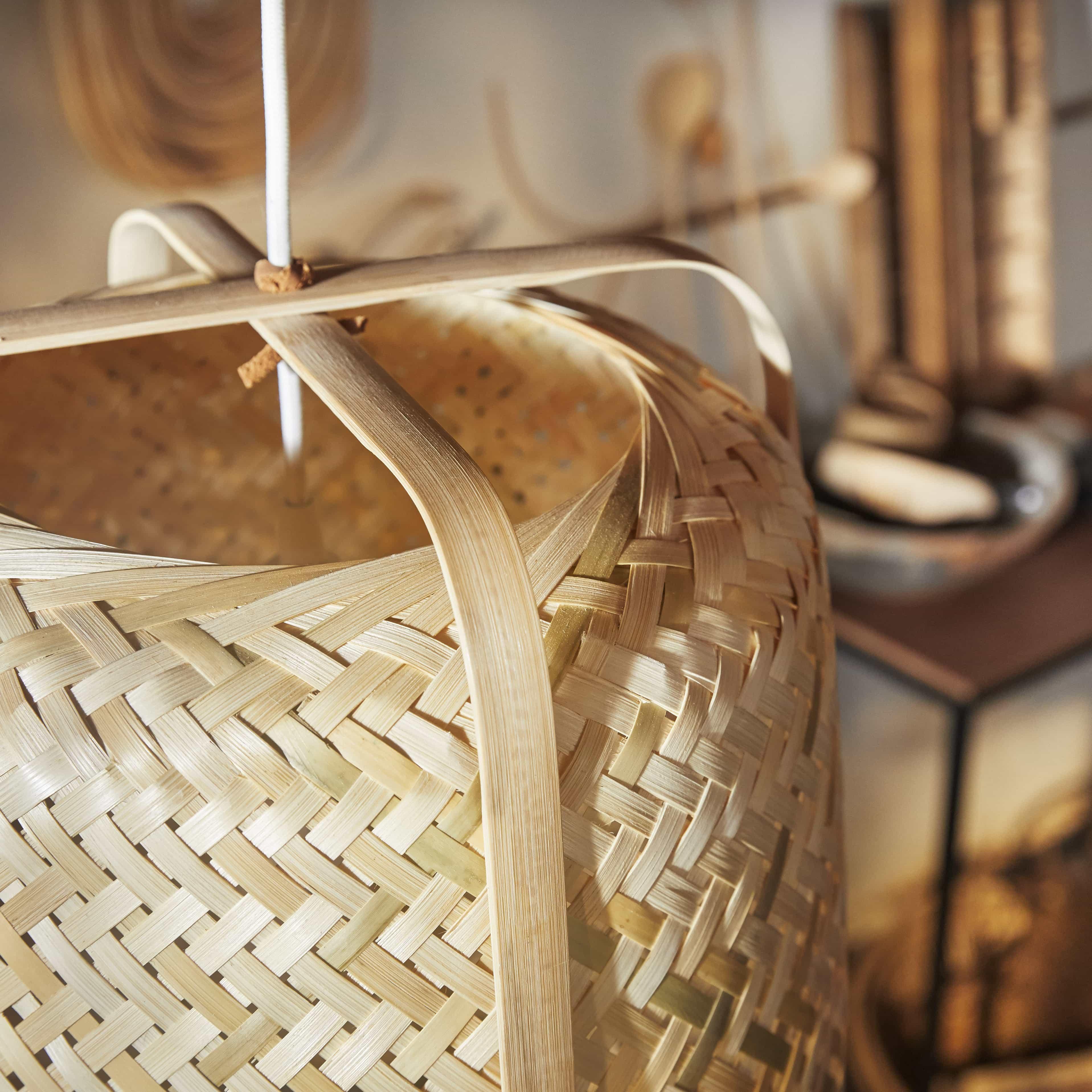 bamboe lampen ikea