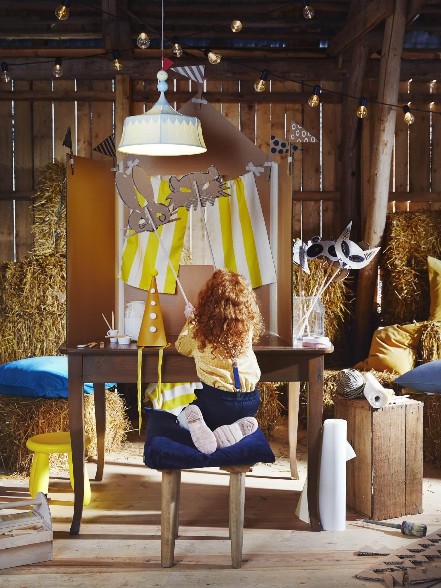 IKEA lamp kinderkamer