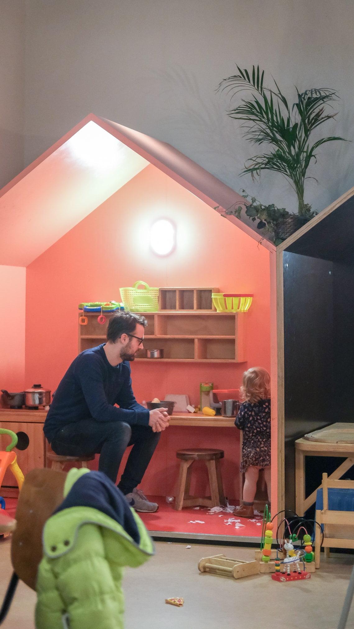 speelhuisjes restaurant voor kinderen