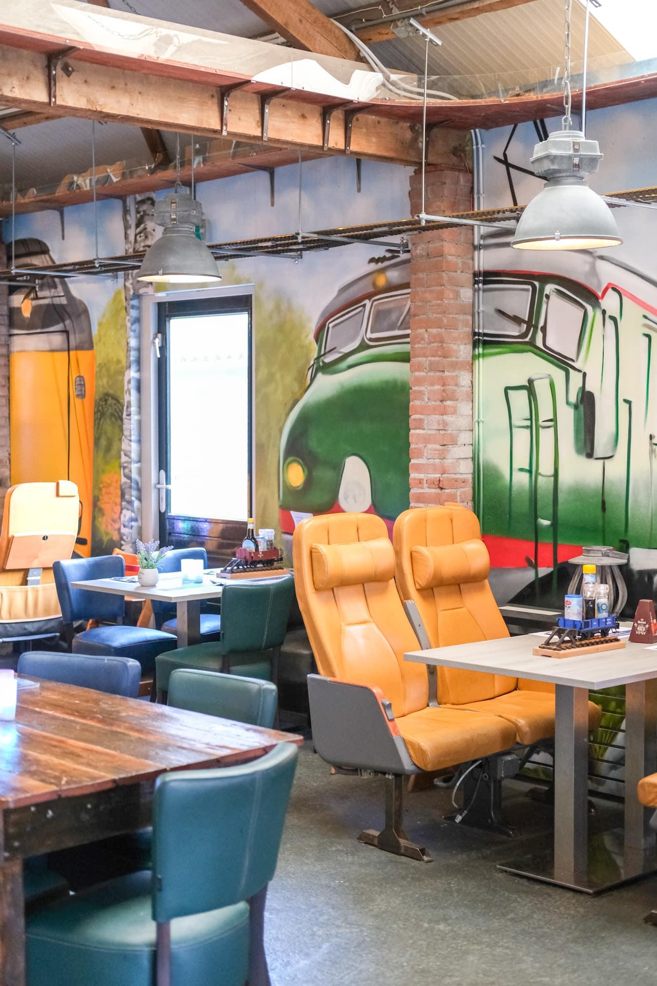 trein restaurant voor kinderen