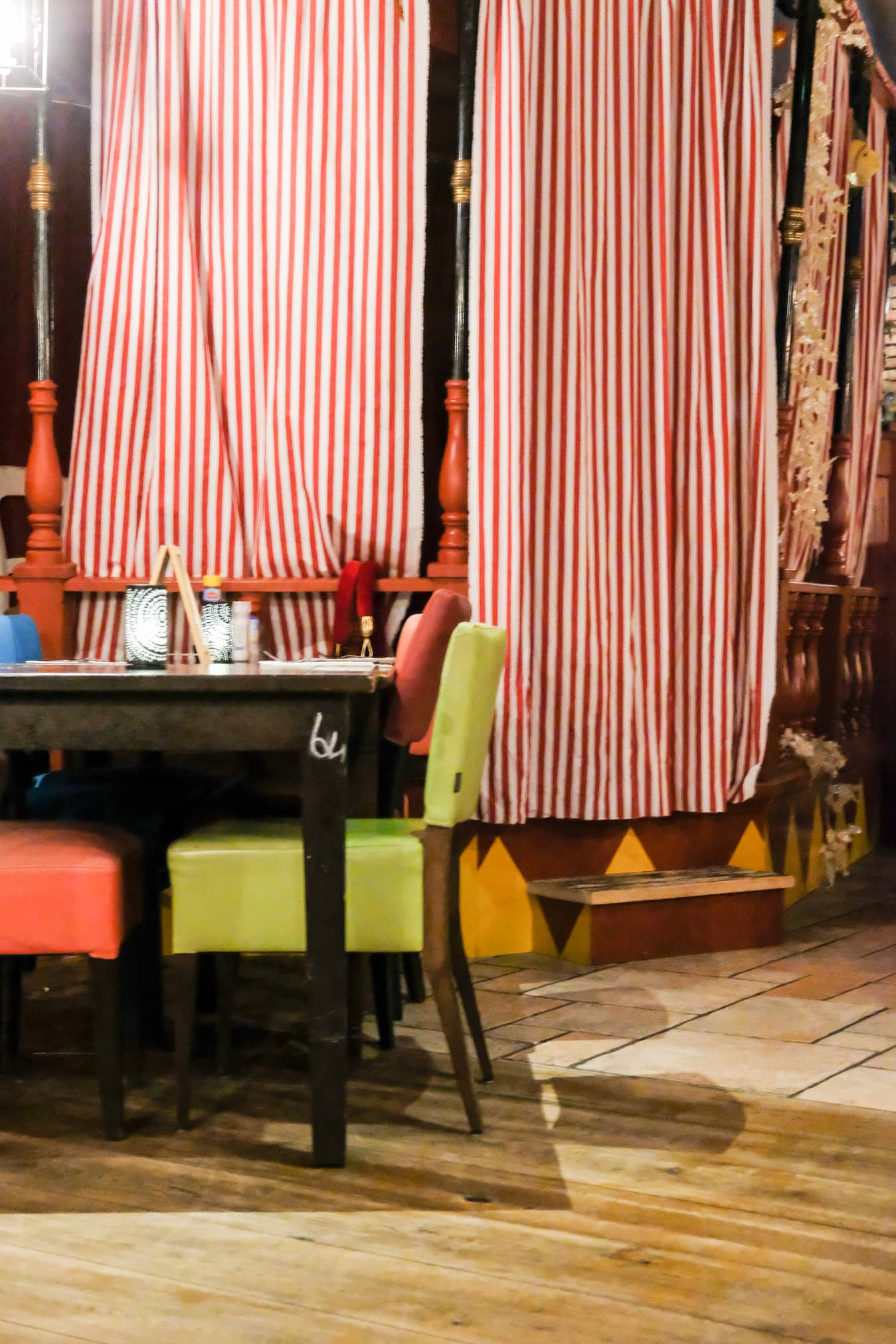 restaurant voor kinderen circus
