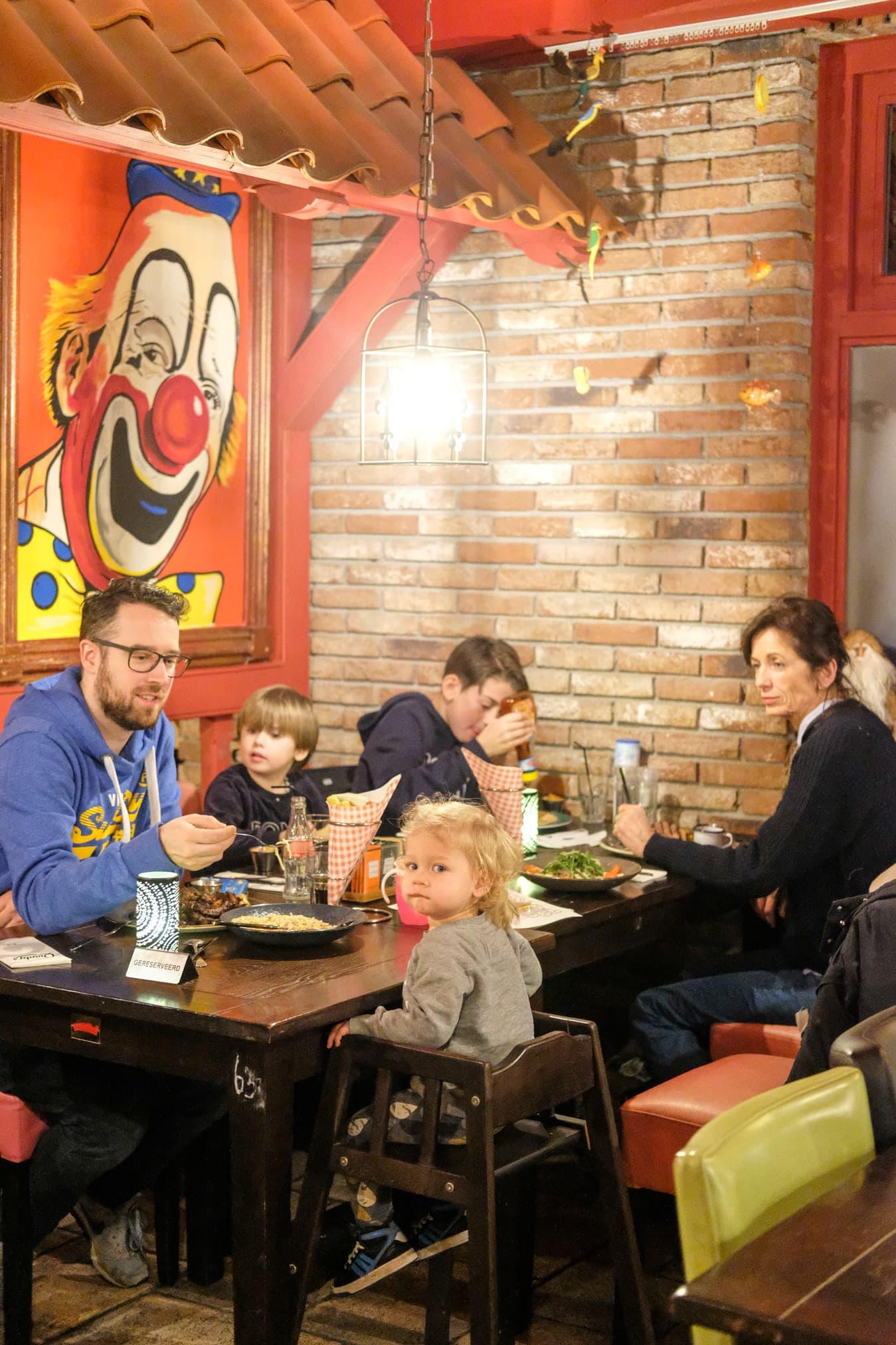uit eten met kinderen op texel