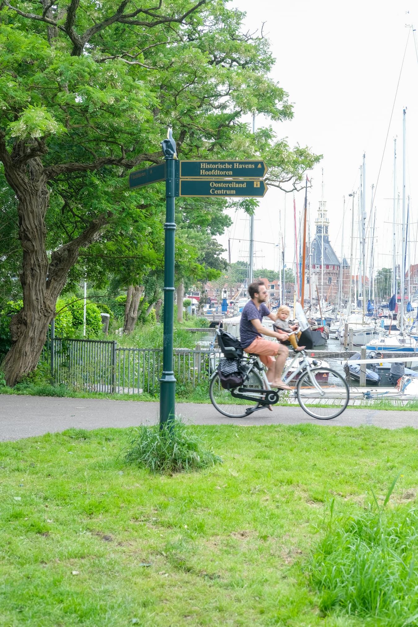 fietsen haven hoorn
