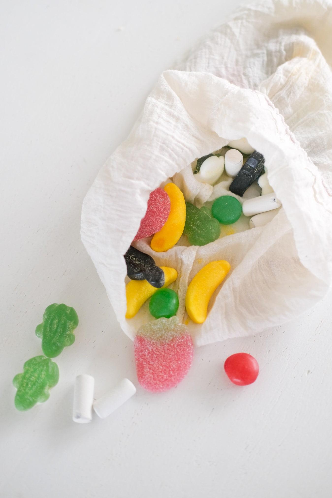 snoep zonder plastic verpakking