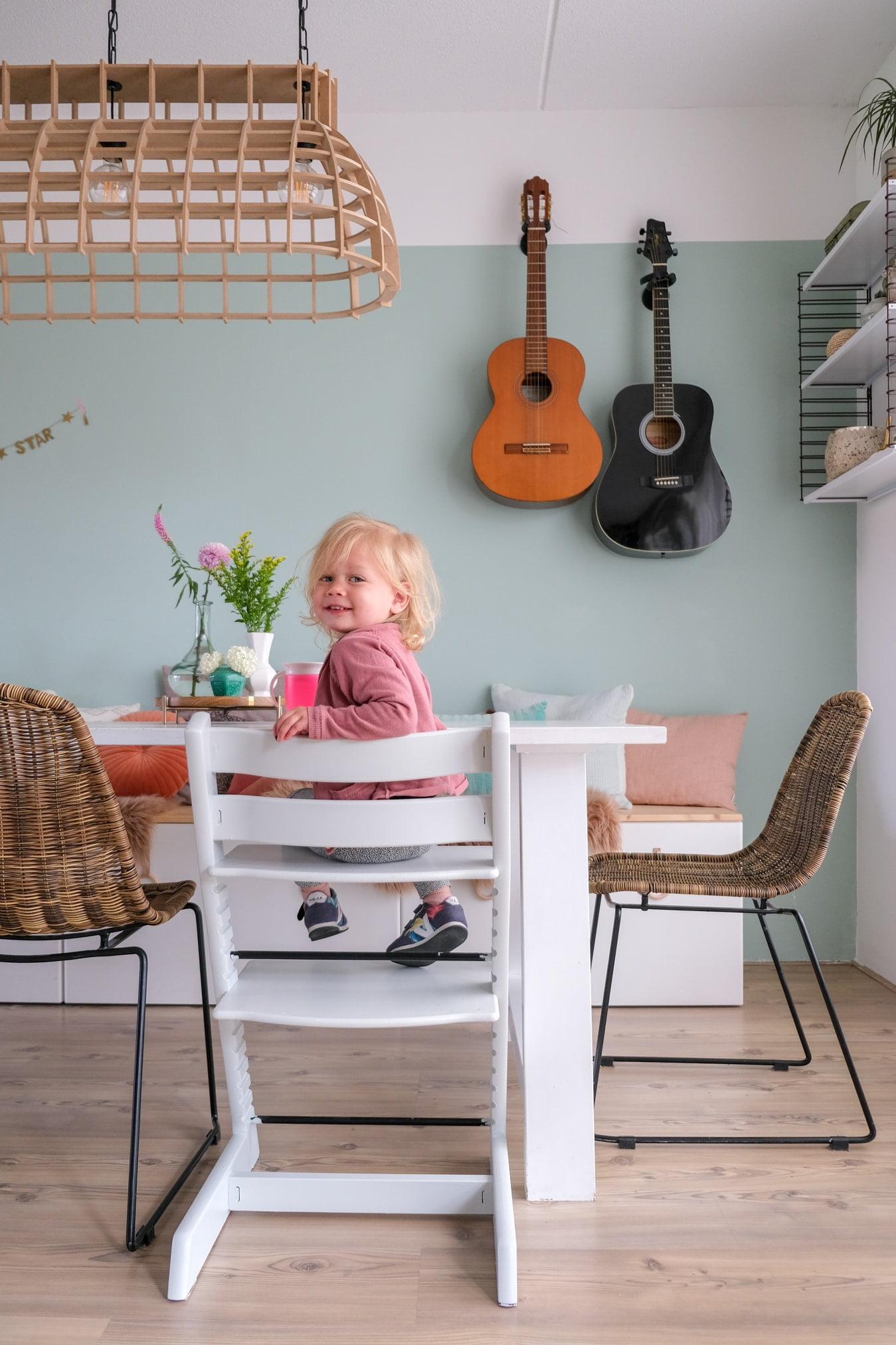 stokke stoel verven met flexa mooi makkelijk verf