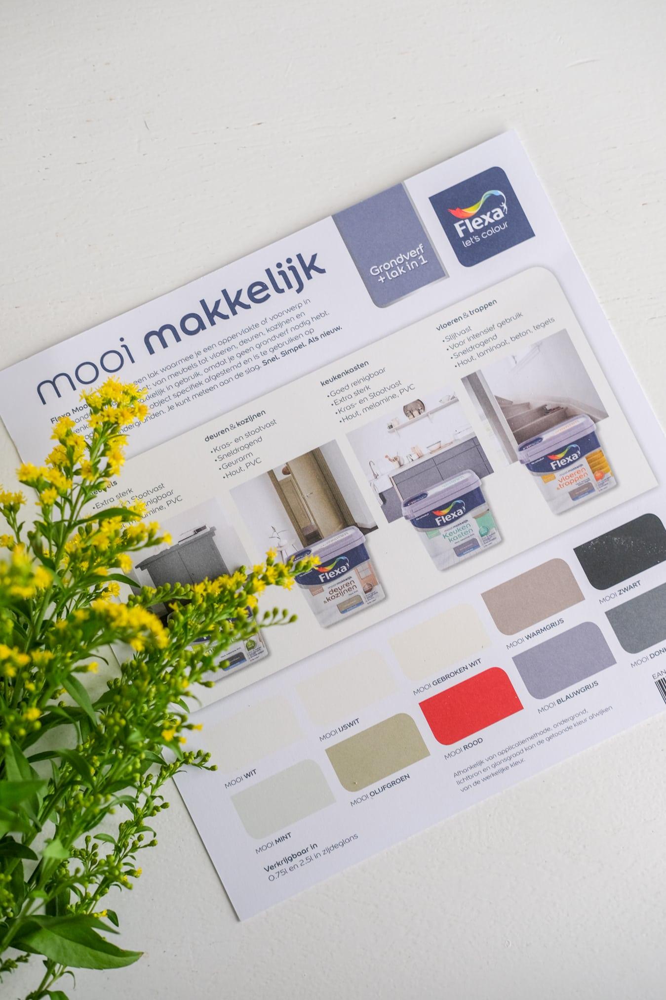 flexa mooi makkelijk meubels kleuren