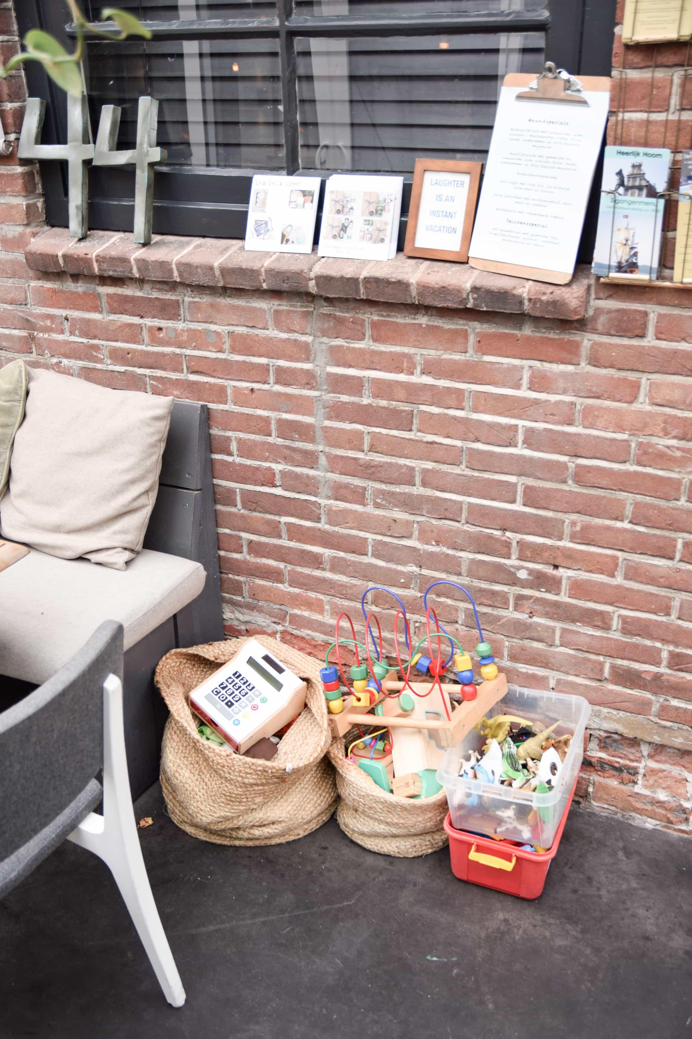 kidsproof restaurant Hoorn