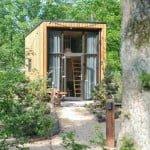 duurzaam overnachten in een tiny house