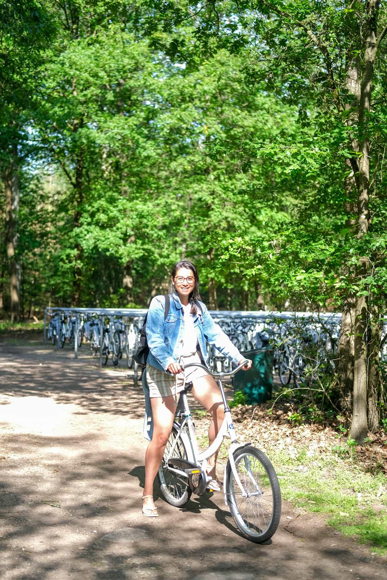 fietsen huren nationale park de hoge veluwe